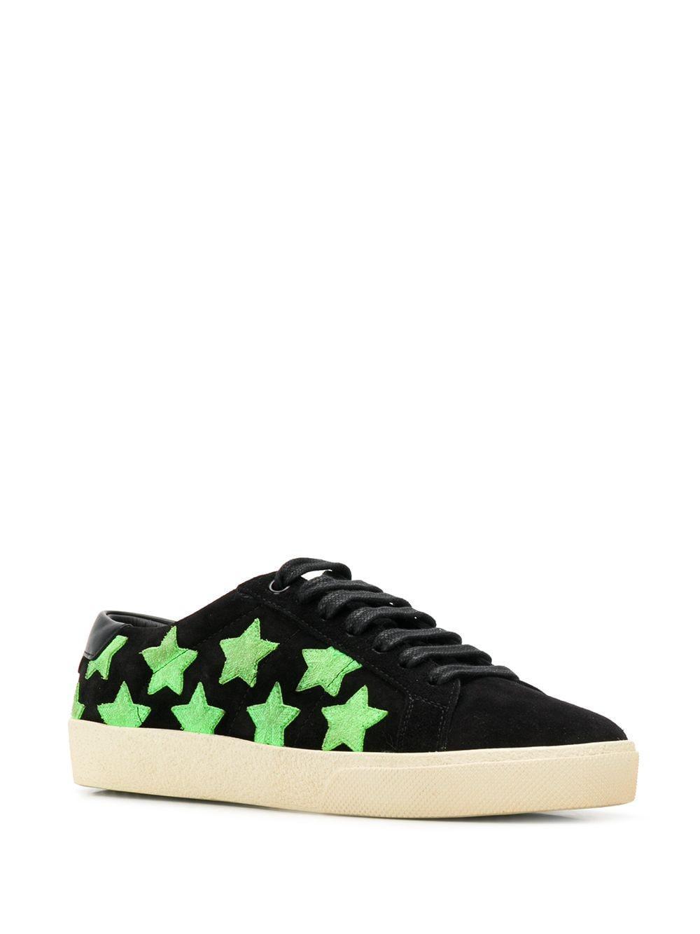saint laurent star shoes