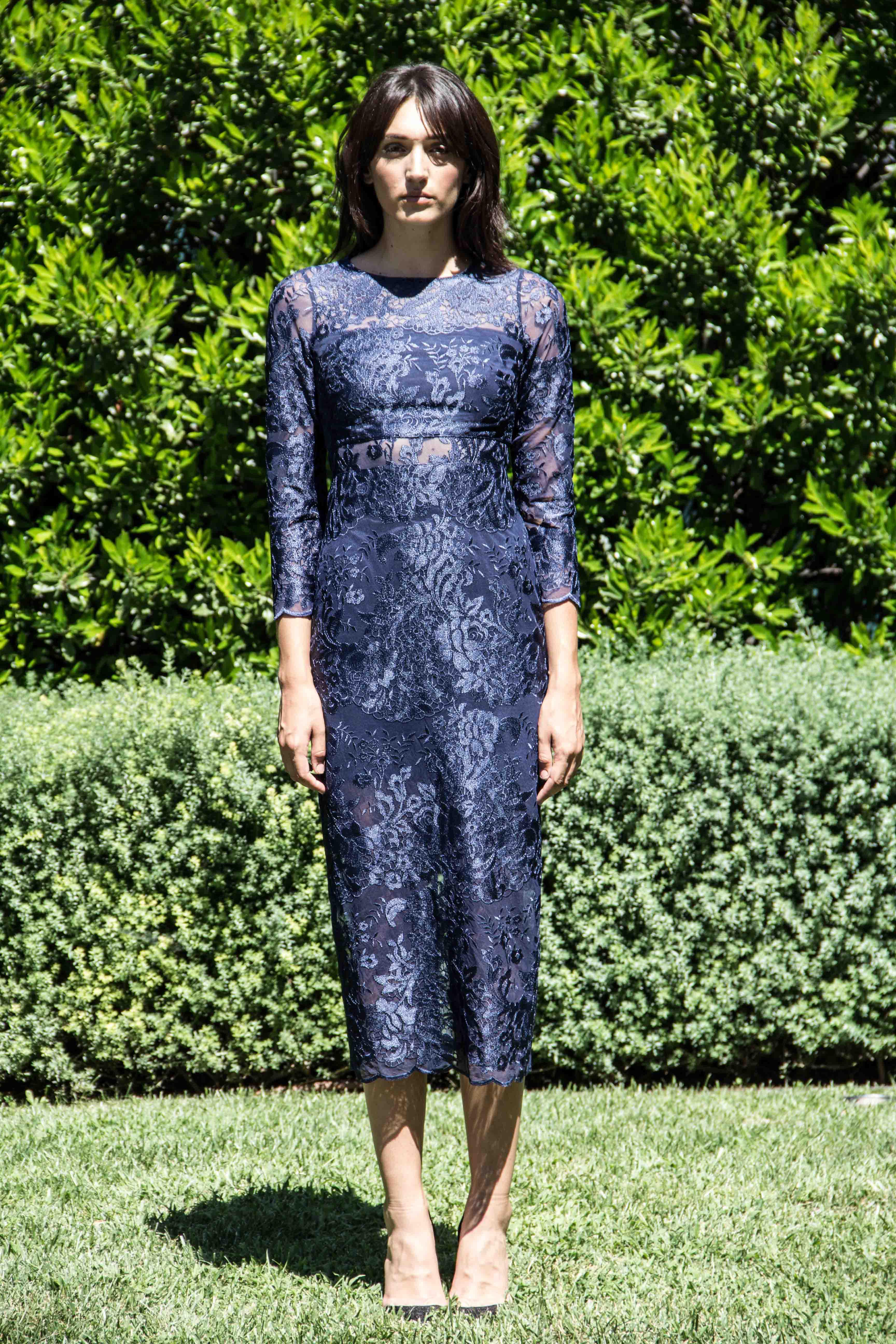 Erin Fetherston Elsa Dress In Blue Lyst