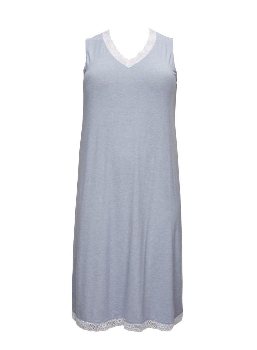 3e12a01a03 Evans Blue Midi Lace Nightdress in Blue - Lyst