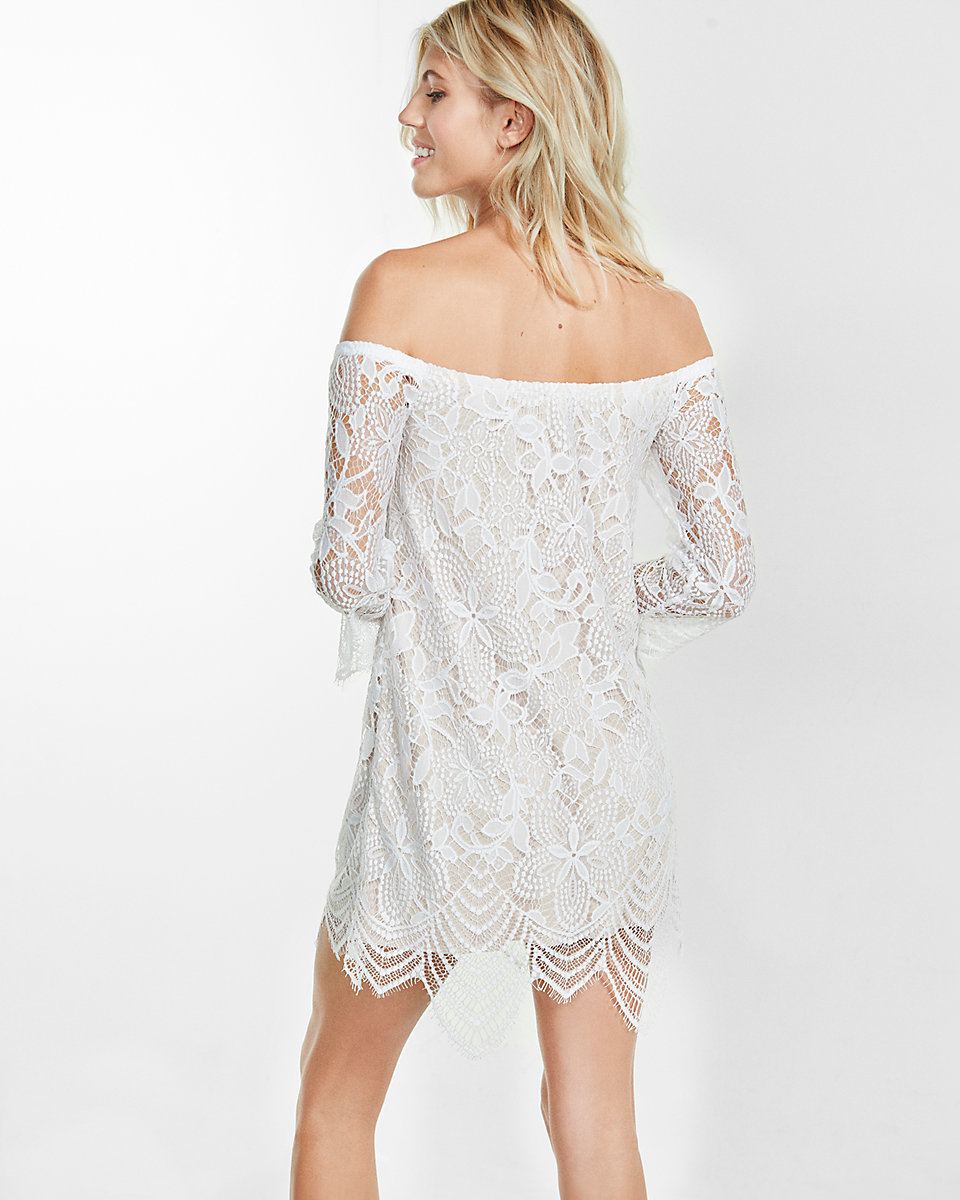 3f87ef333028 Carly White Off Shoulder Wrap Dress. Carly Dusty Mint Off Shoulder Wrap  Dress. PROMO