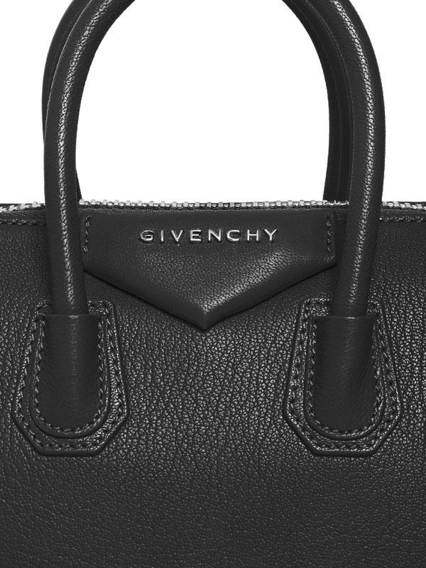Givenchy Mini Antigona Grained Leather