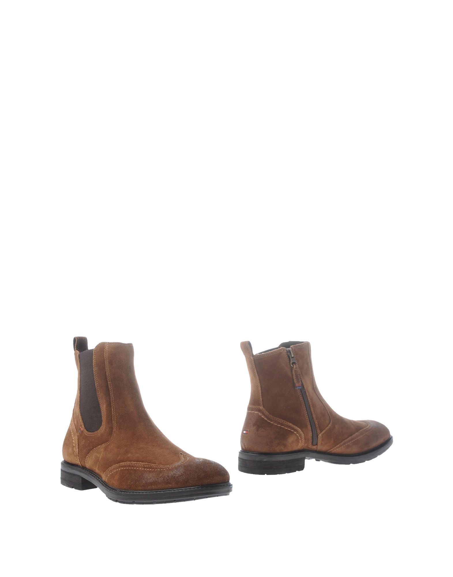 tommy hilfiger ankle boots in brown for men lyst. Black Bedroom Furniture Sets. Home Design Ideas