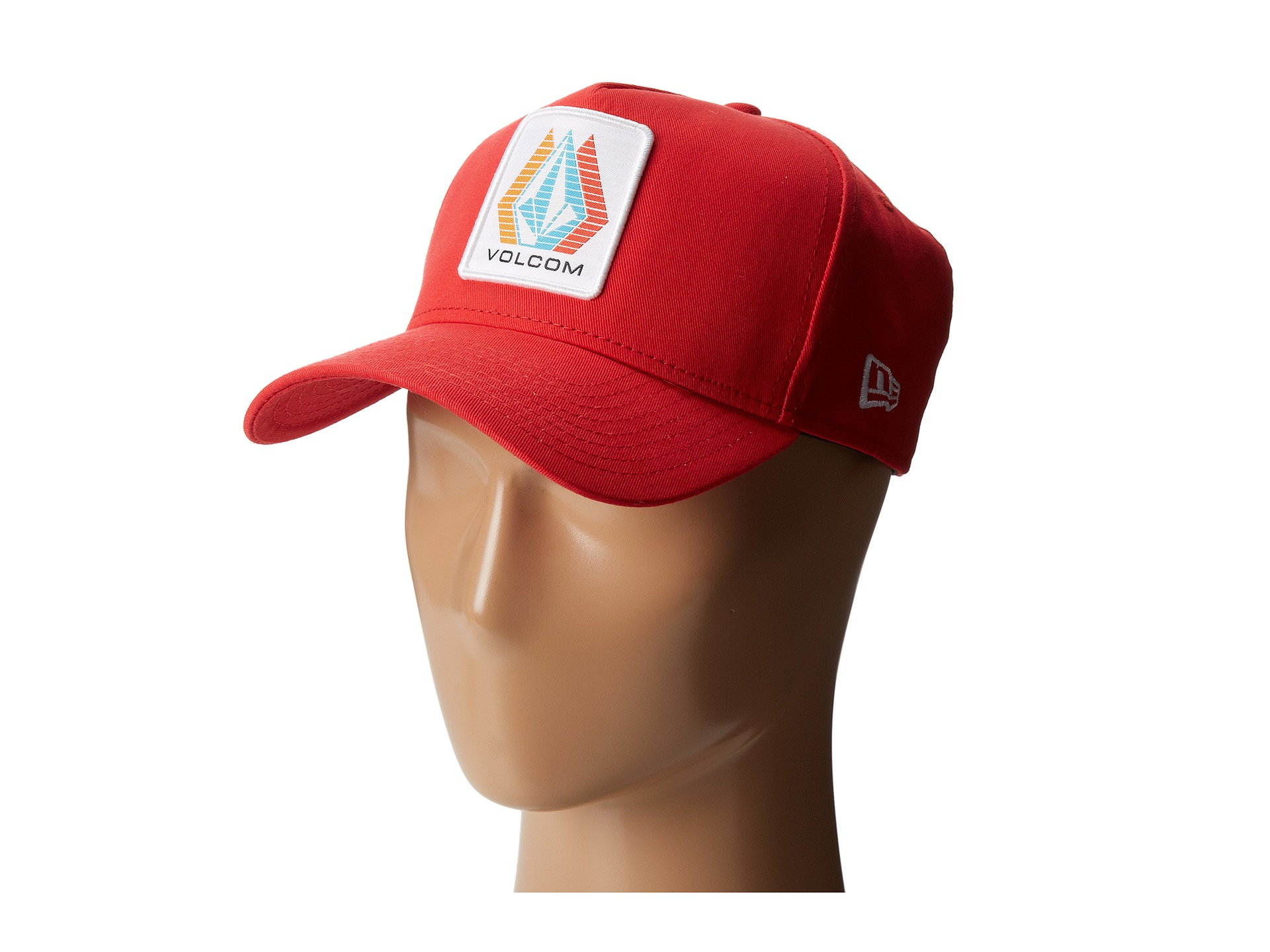 61948da1 ... germany lyst volcom rally 9forty hat in red for men 96cae 3d50a