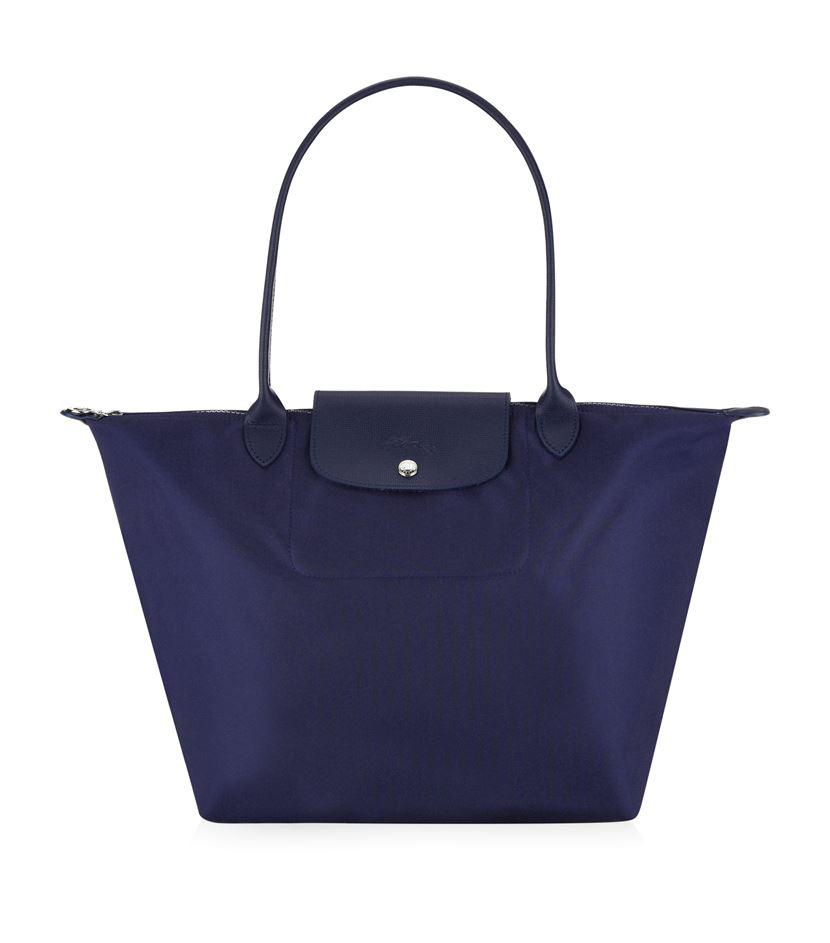 longch le pliage n 227 169 o shoulder bag in blue lyst