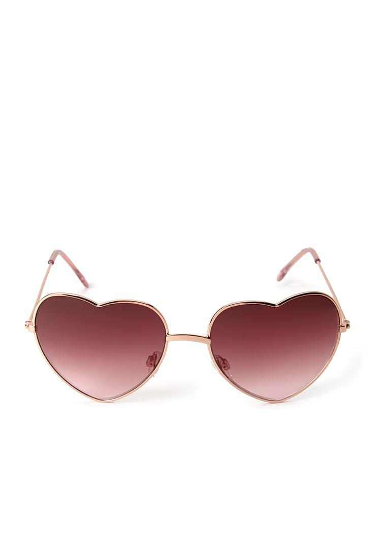 4177d9be0d Heart Sunglasses Pink