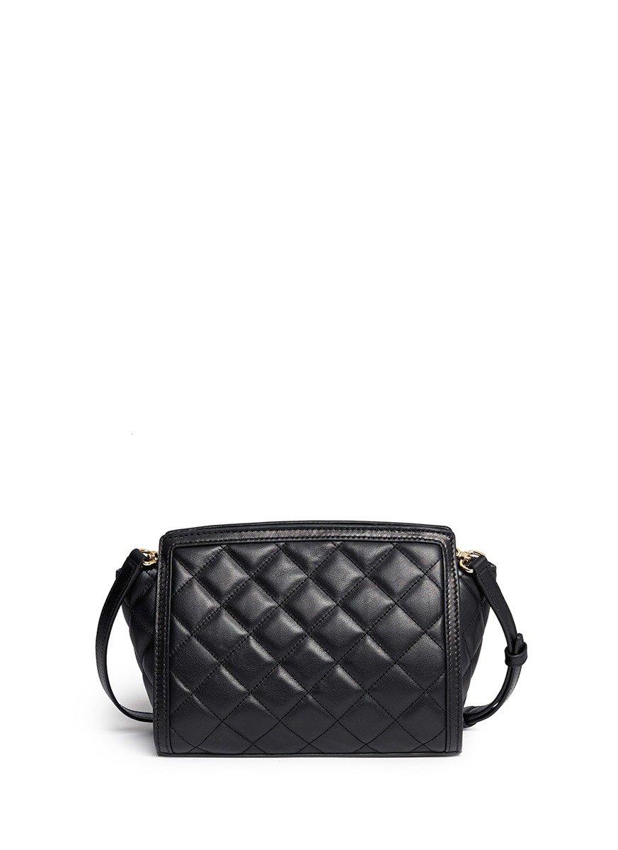 Michael Kors Selma Medium Quilted Leather Messenger Bag