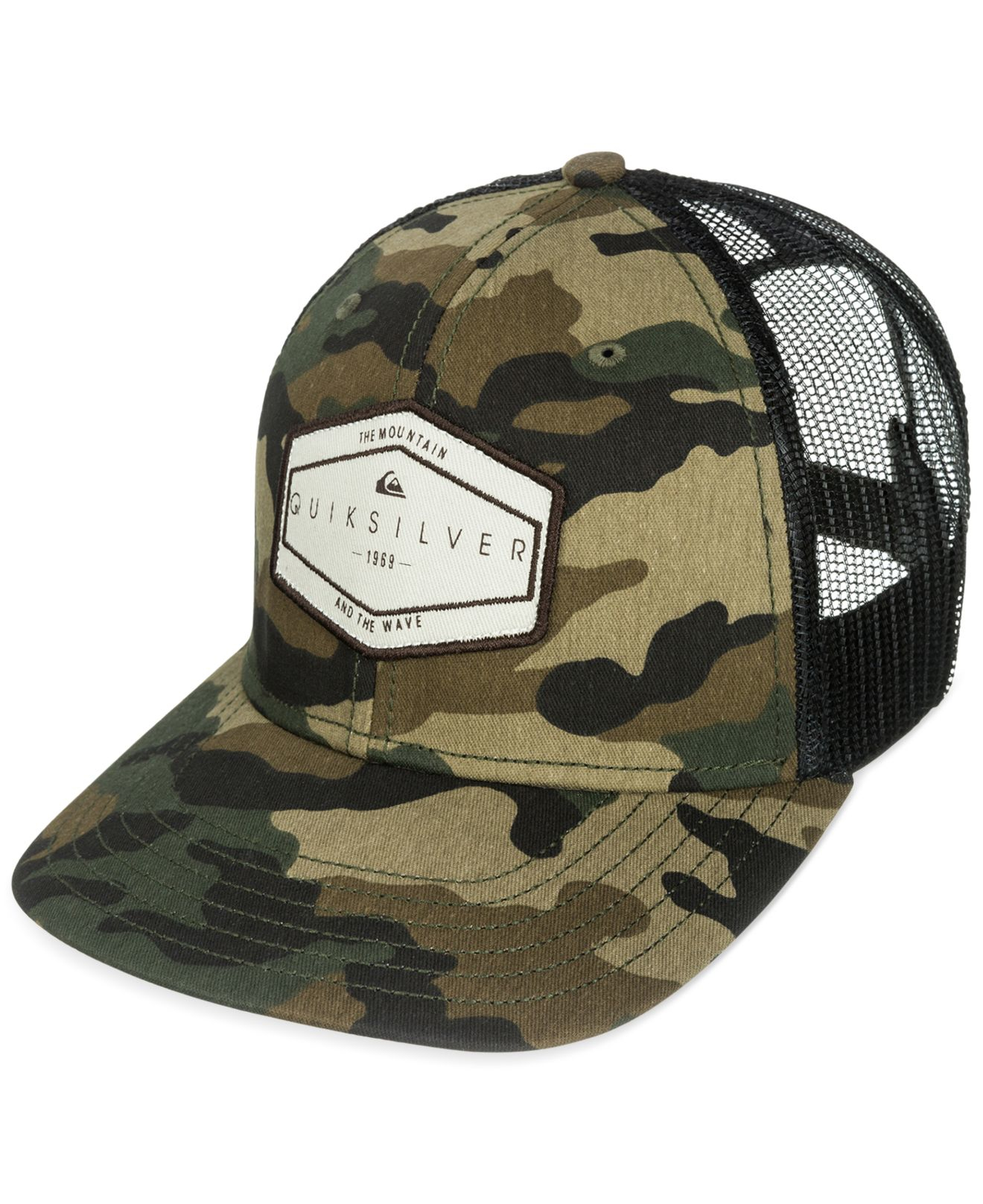 8993c4ec7dd92 ... order lyst quiksilver forever hat in green for men 4be54 1732a