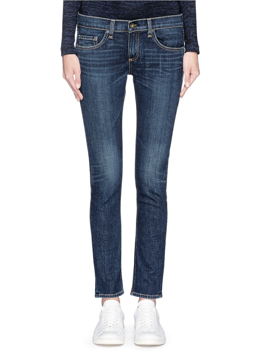 45be4da0f3c Rag And Bone Jeans. rag bone the dre skinny boyfriend jeans in blue ...