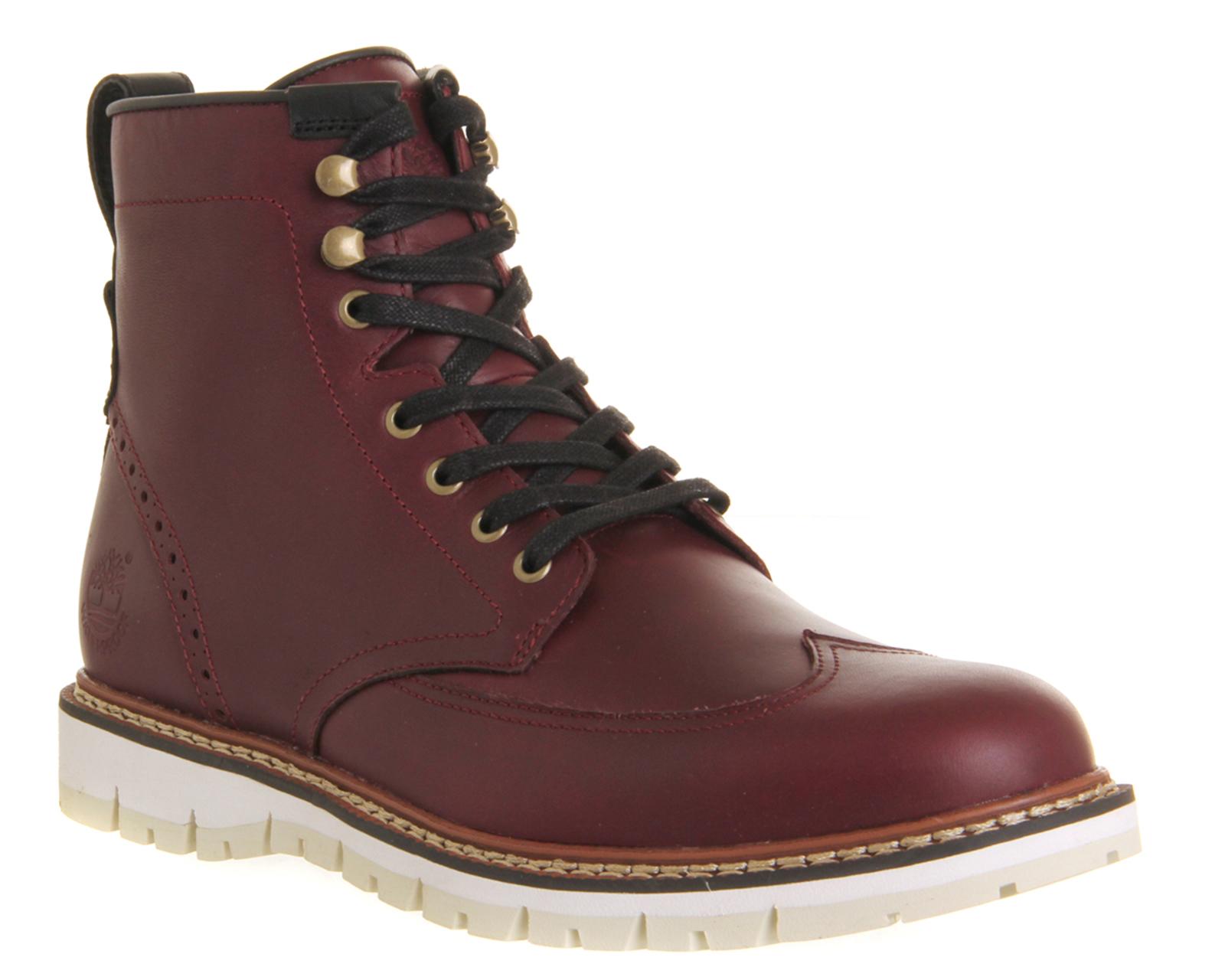 77894a6d29e Timberland Purple Britton Hill Wingtip Boot for men