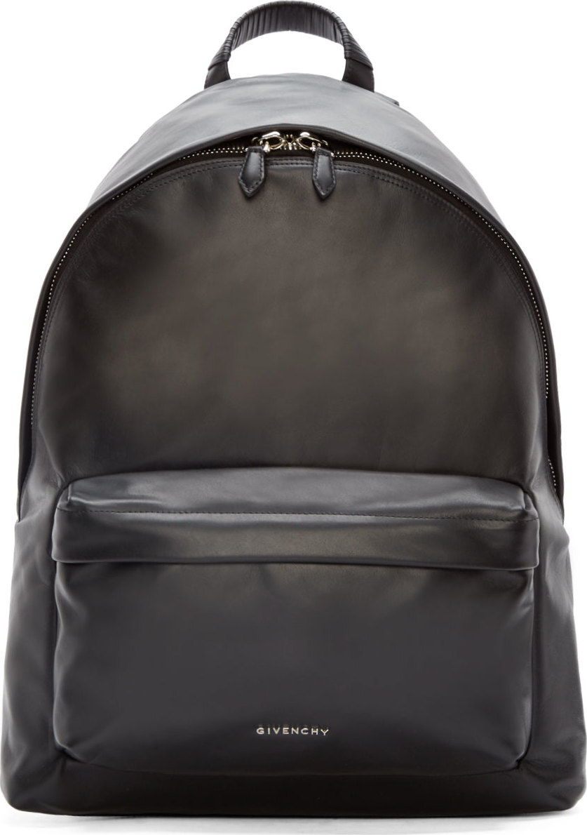 Lyst - Givenchy Black Leather Classic Iconic Backpack in Black for Men c55ba7f488422