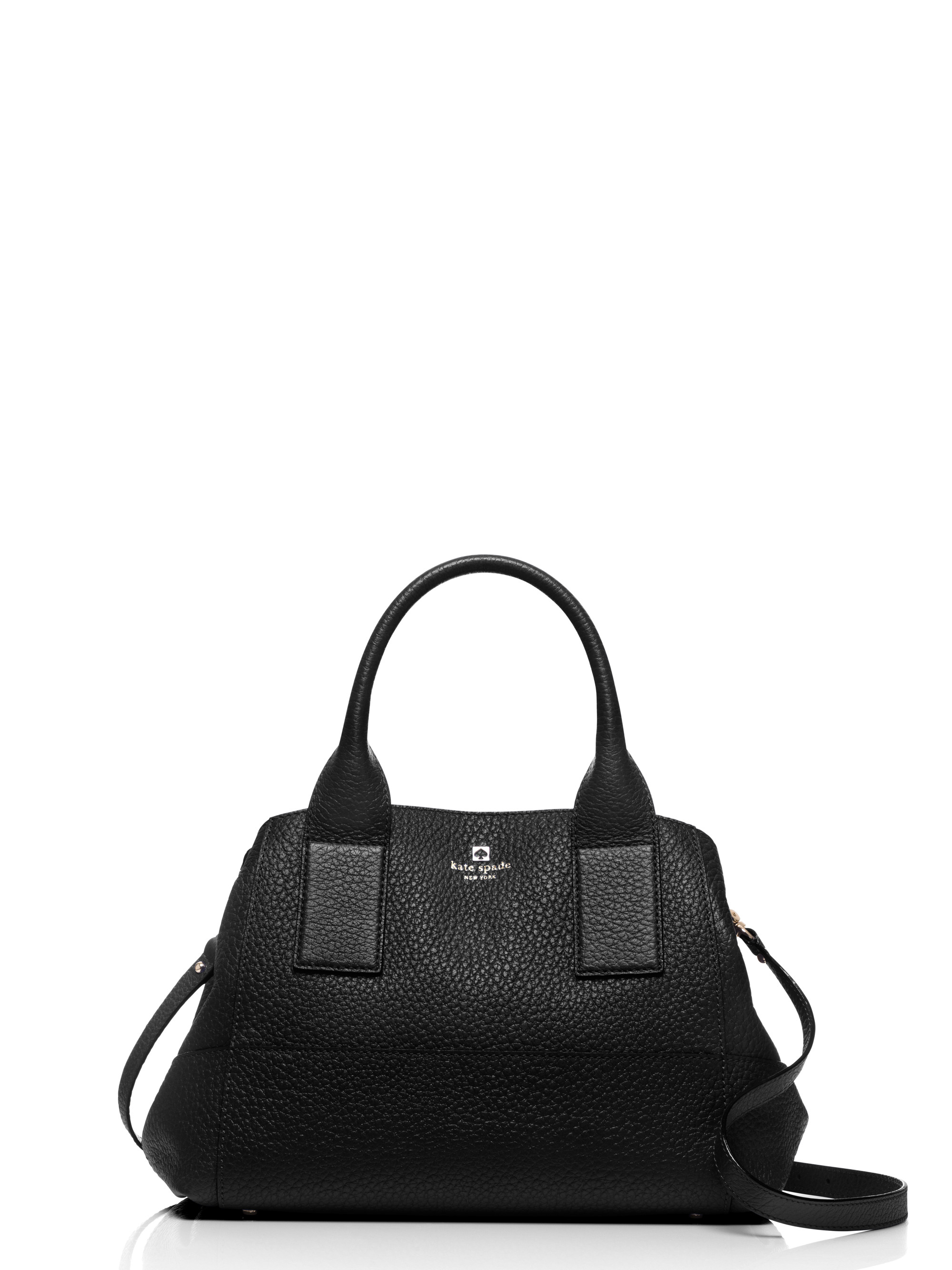 Kate Spade Southport Avenue Sloan Leather Tote In Black Lyst
