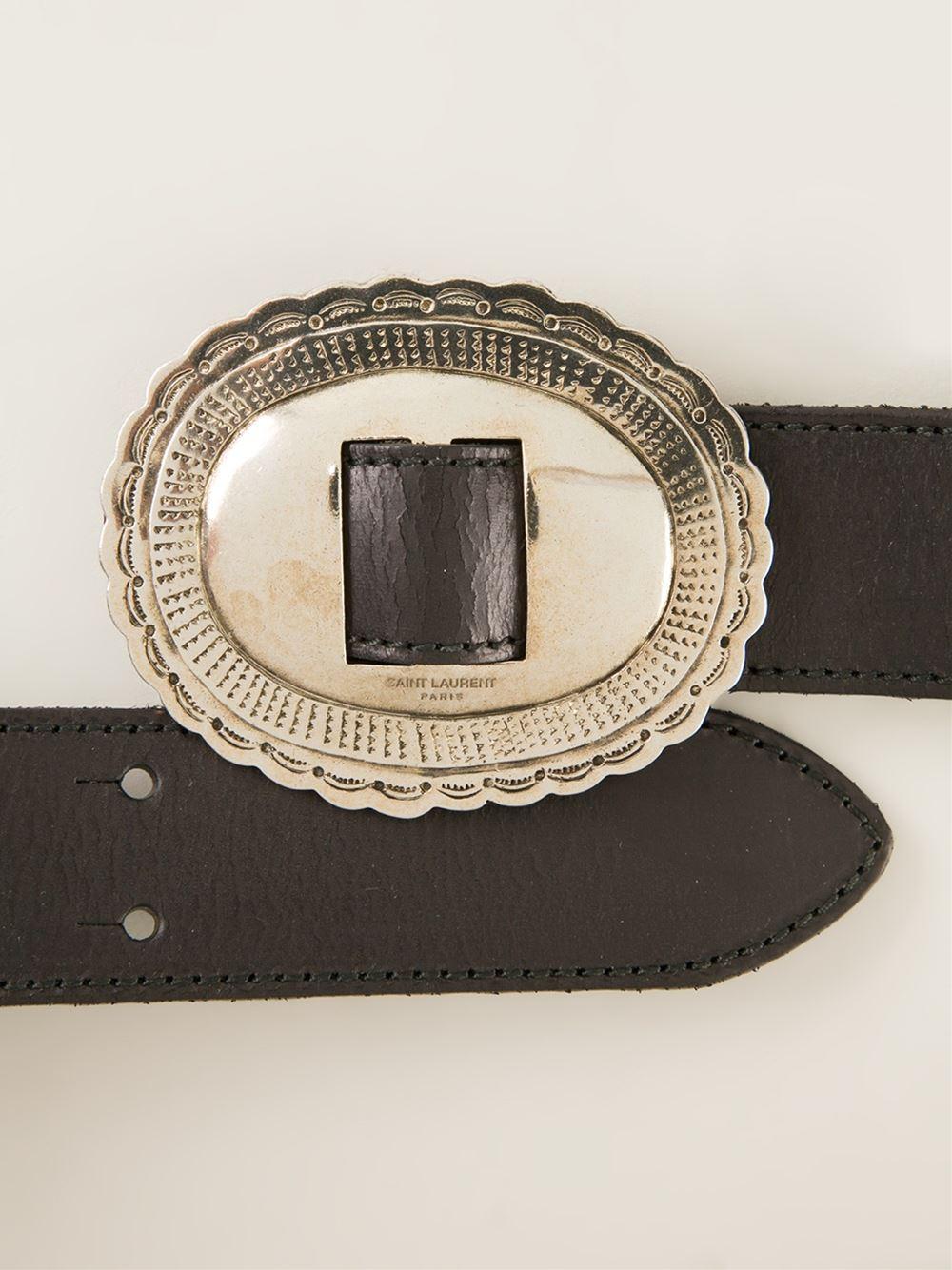 Concho Buckle Belt