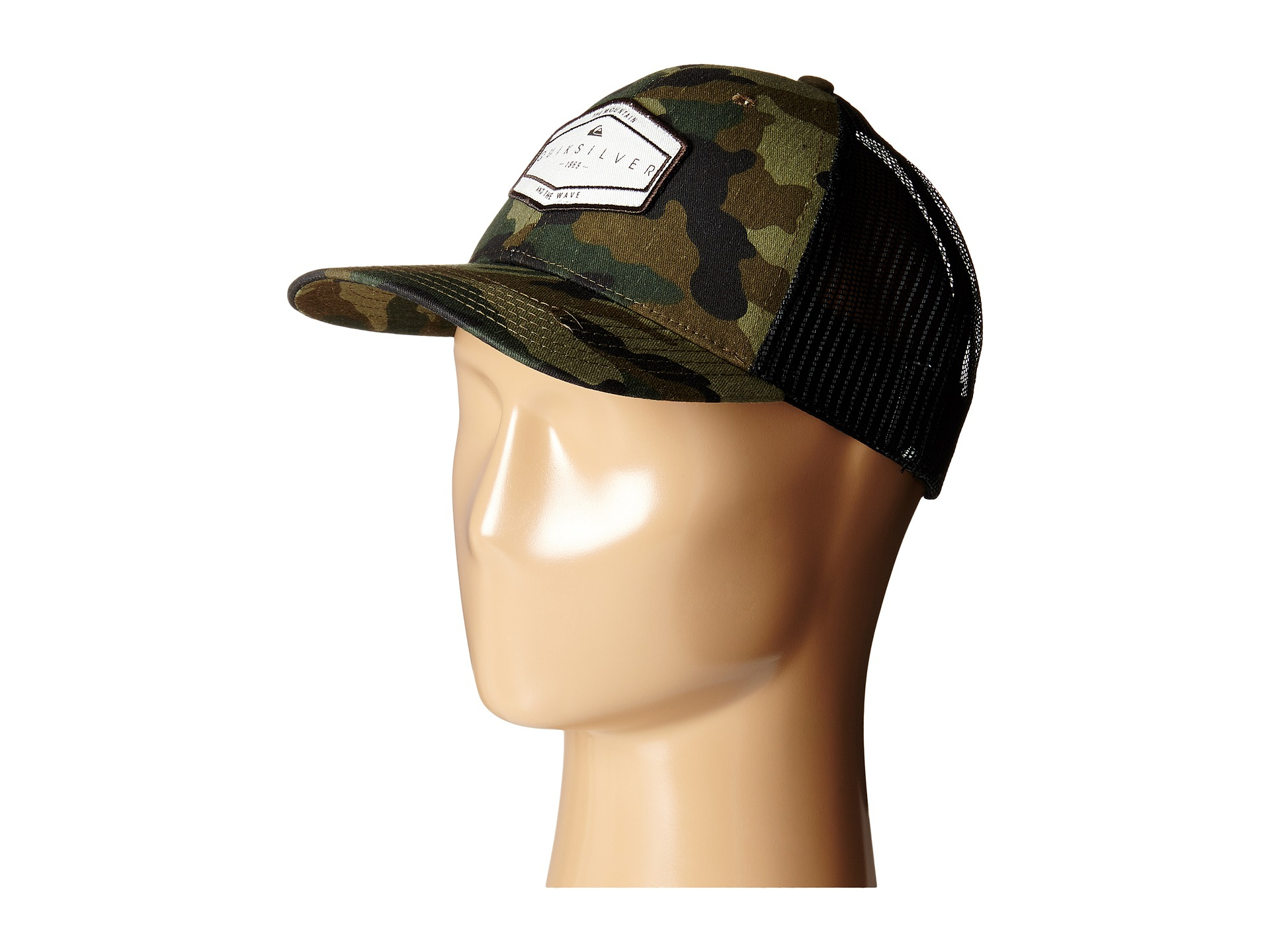 ... order lyst quiksilver forever hat in green for men 945f3 c74ed 44a428487314