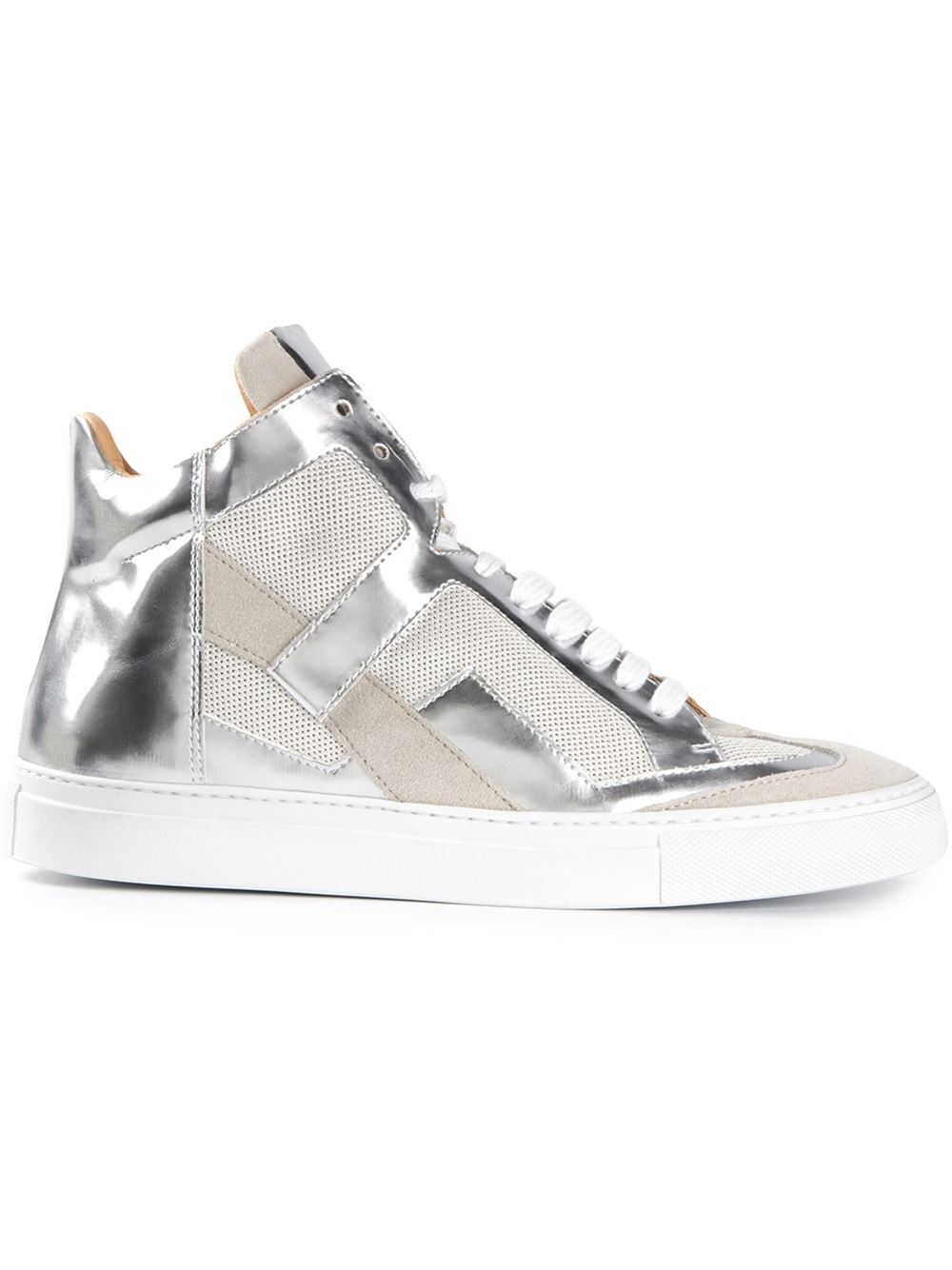 hi-top sneakers - Metallic Maison Martin Margiela 3jTOJ