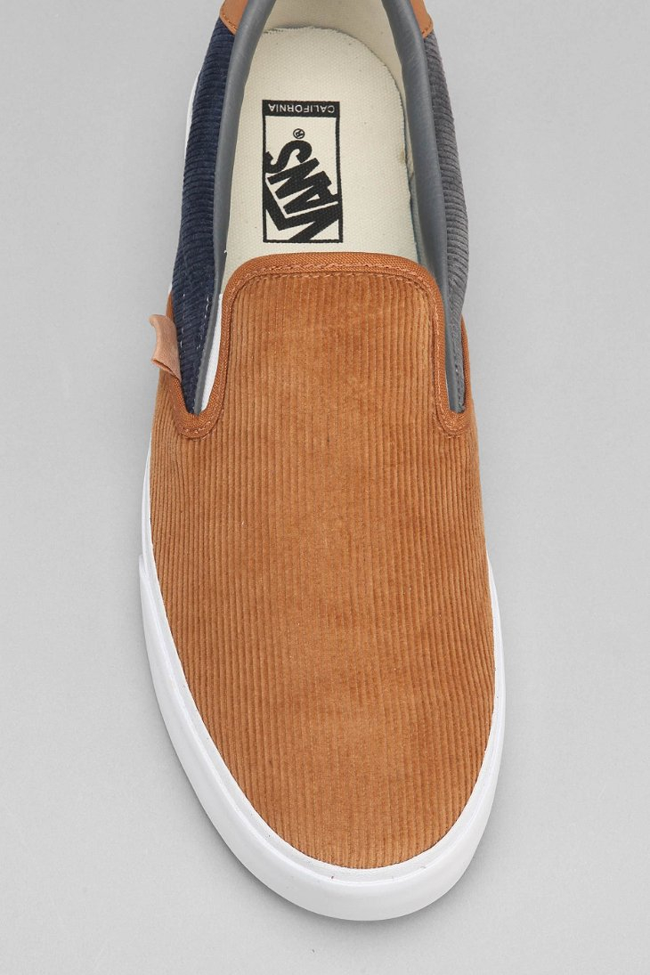Lyst Vans California Corduroy Slip On Men S Sneaker In