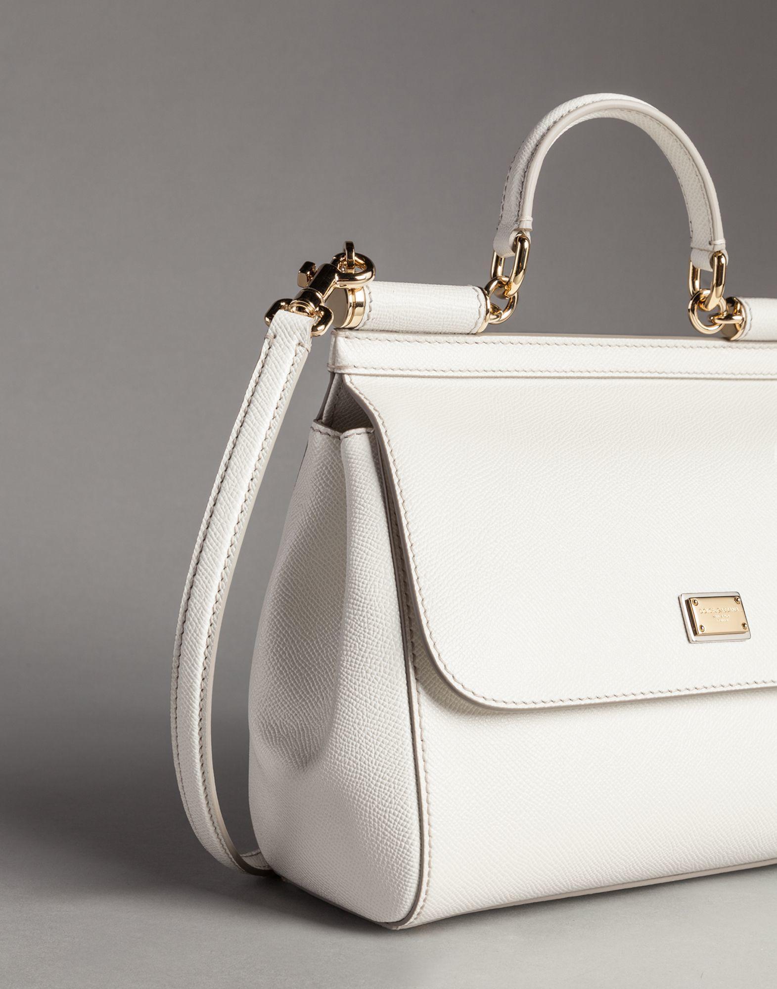 Sicily mini tote bag - White Dolce & Gabbana RbKdPCC