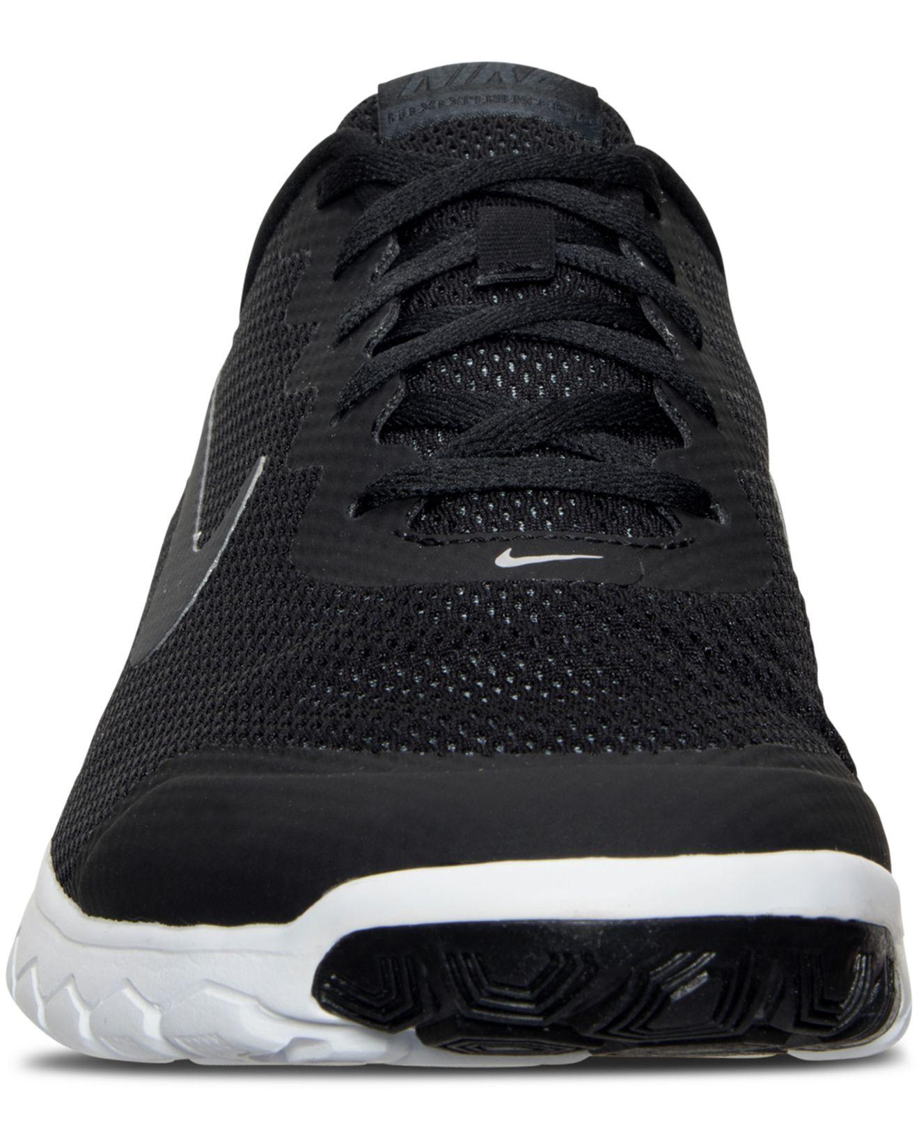 3792432b5cd Lyst - Nike Men s Flex Experience Run 4 Wide Width Running Sneakers ...