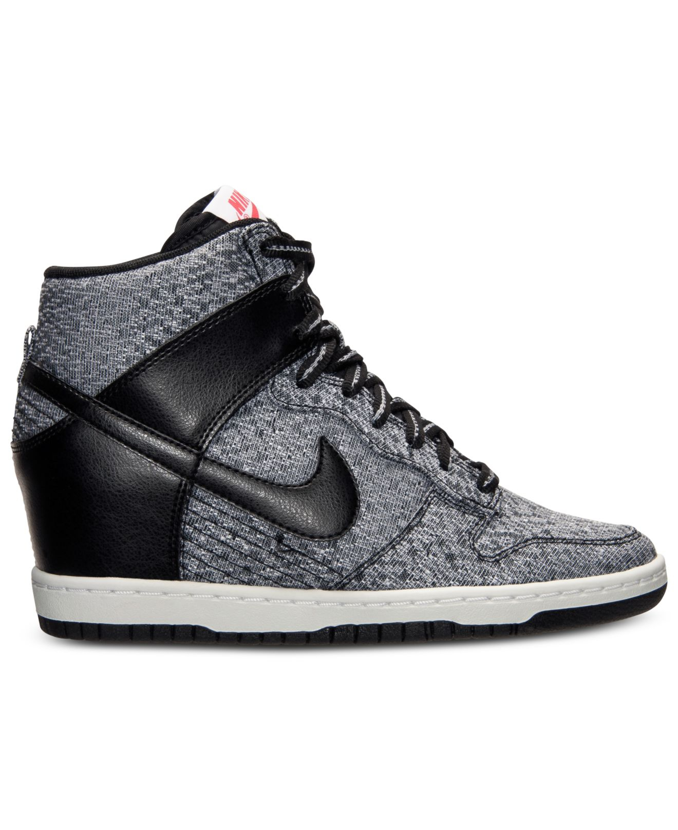 low priced 0eb92 c2e65 Gallery. Previously sold at  Macy s · Women s Nike Dunk Women s Nike Dunk  Sky Hi Women s Glitter Sneakers ...