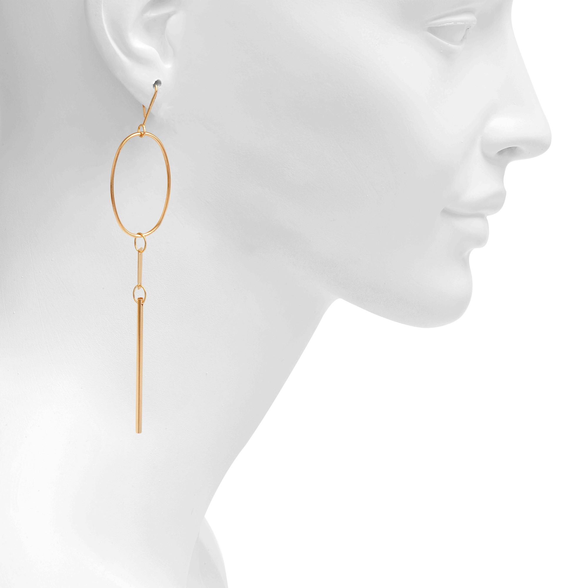 Vanrycke Exclusive - Mono earring Im In Love 750 gold and diamonds C2ehmOYWG8
