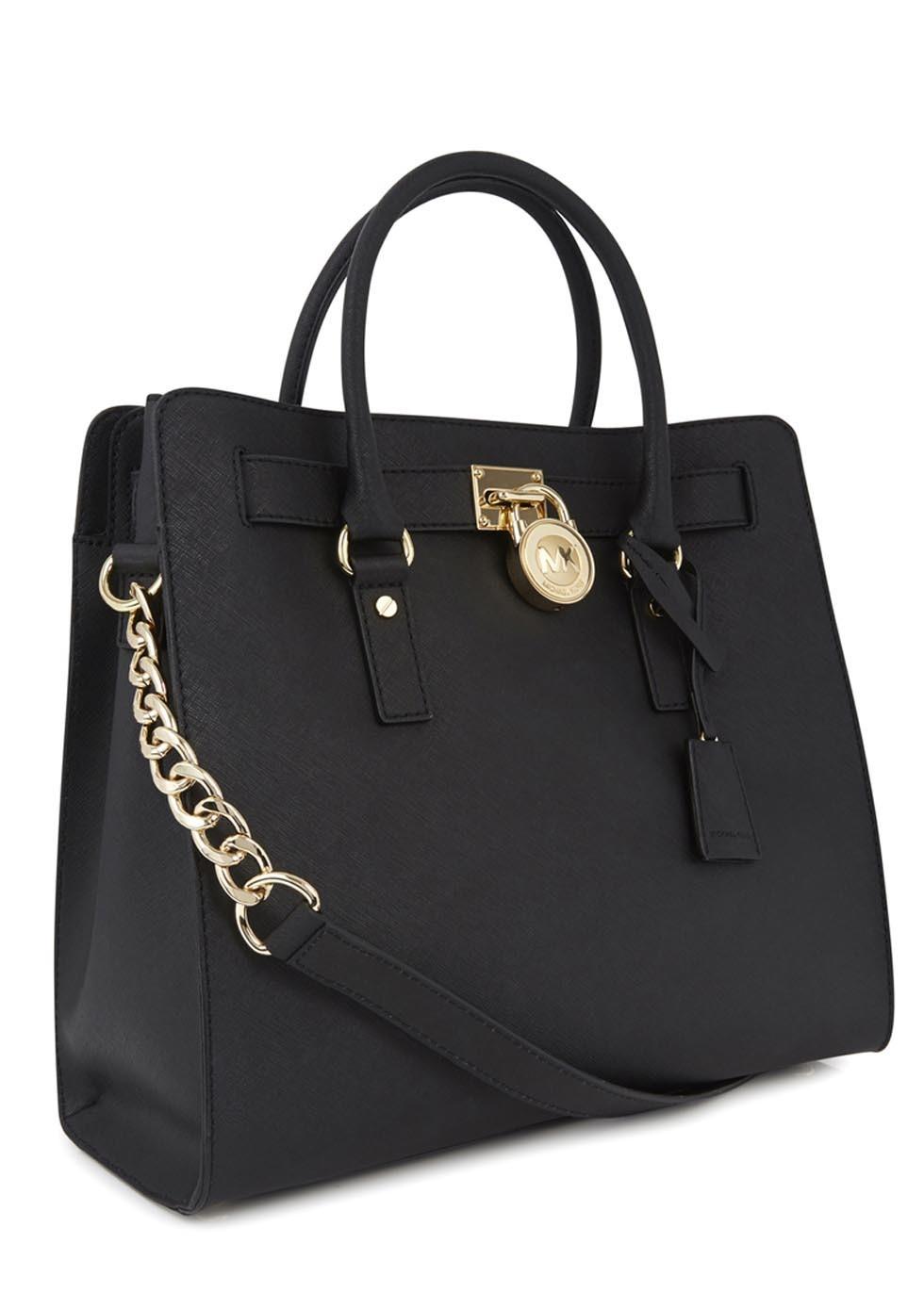 904bb7d4ea94 Black Saffiano Leather Bag Michael Kors | Stanford Center for ...