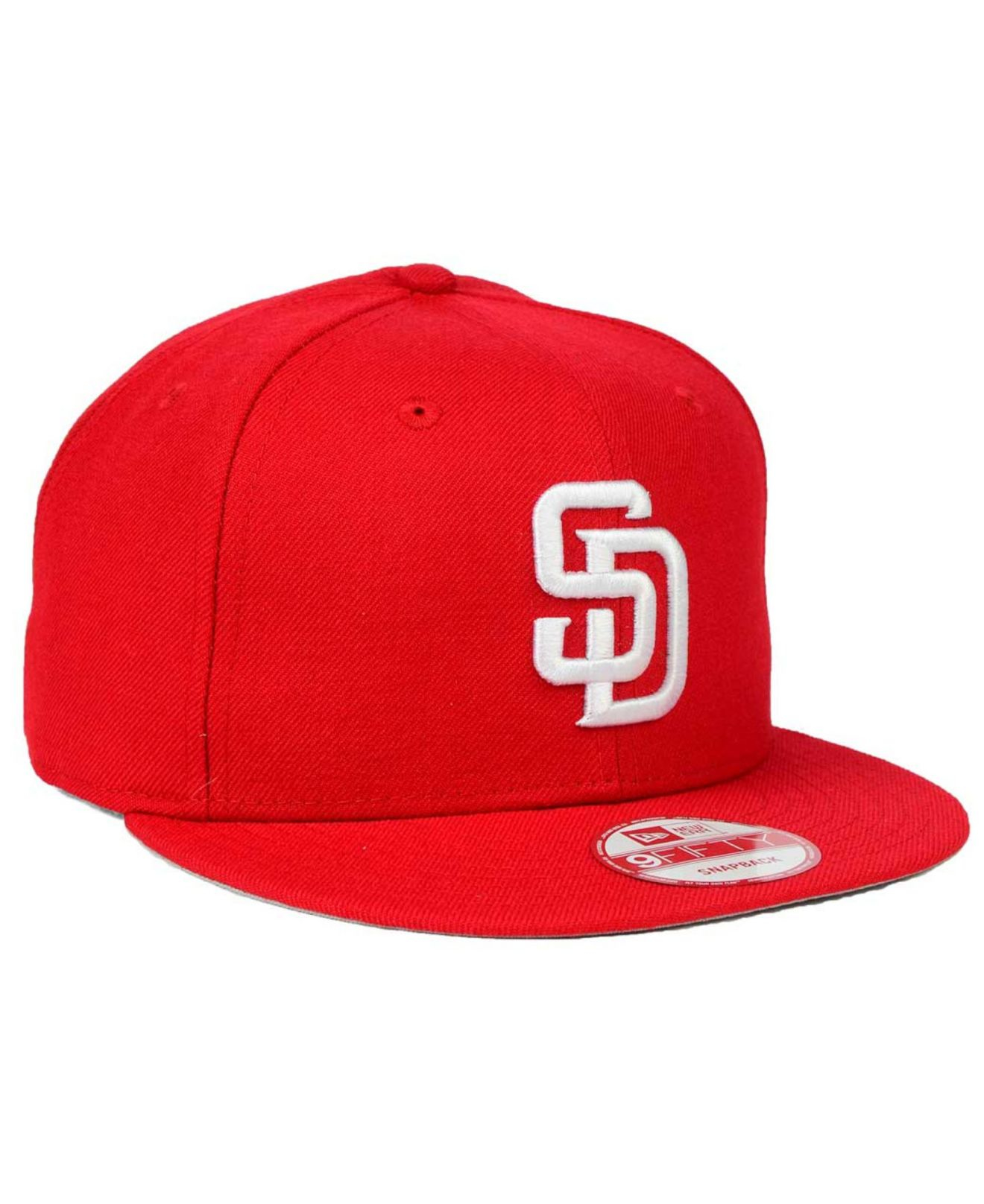 fda31f10c ... coupon for lyst ktz san diego padres c dub 9fifty snapback cap in red  e6f39 98b57