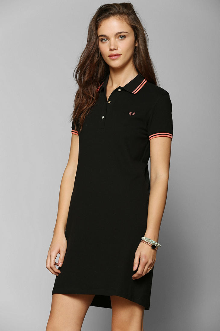 Cool Details About Boohoo Womens Carinna Polo Shirt Dress