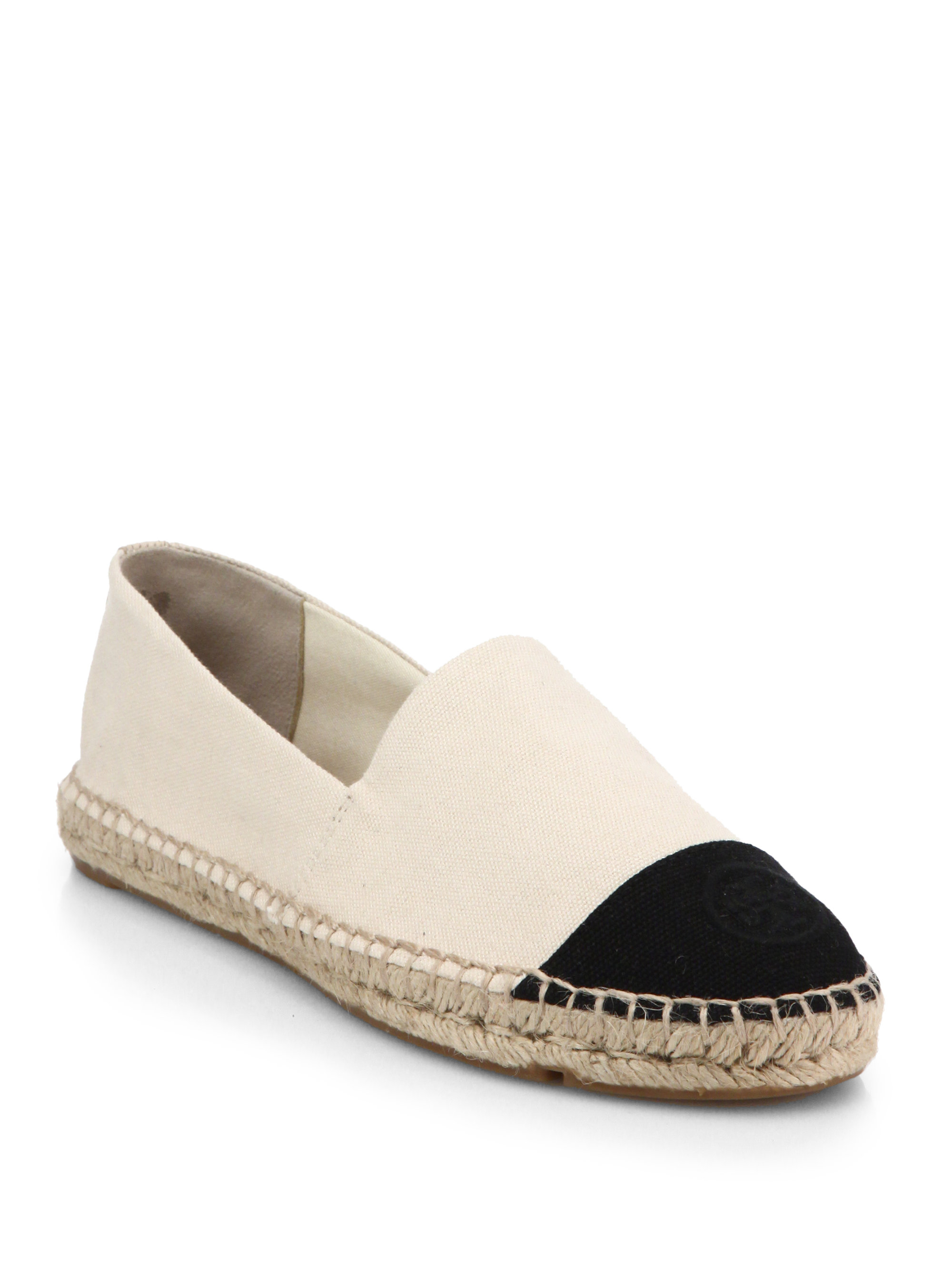 Tory Burch Colorblocked Canvas