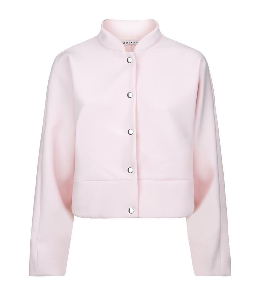Finders keepers Space & Time Scuba Bomber Jacket in Pink | Lyst