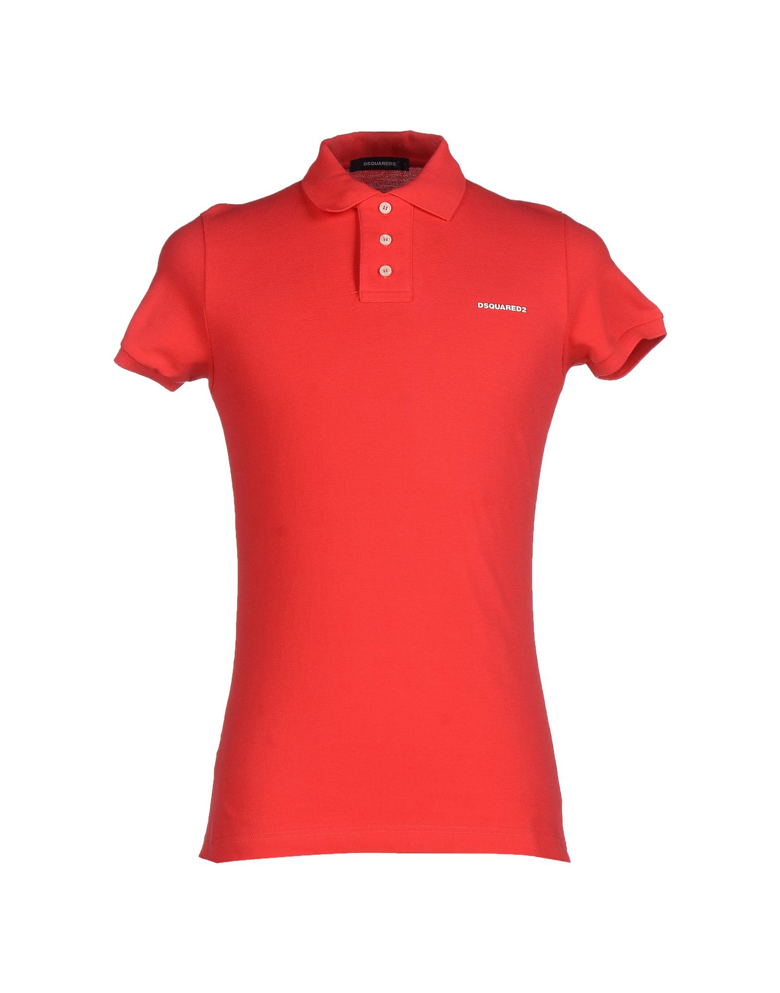 Dsquared Polo Shirt In Red For Men Lyst
