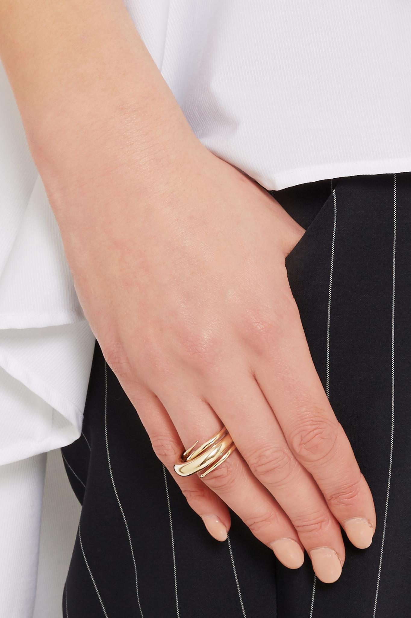 Charlotte Chesnais Gold Hurly Burly ring 9DvaP