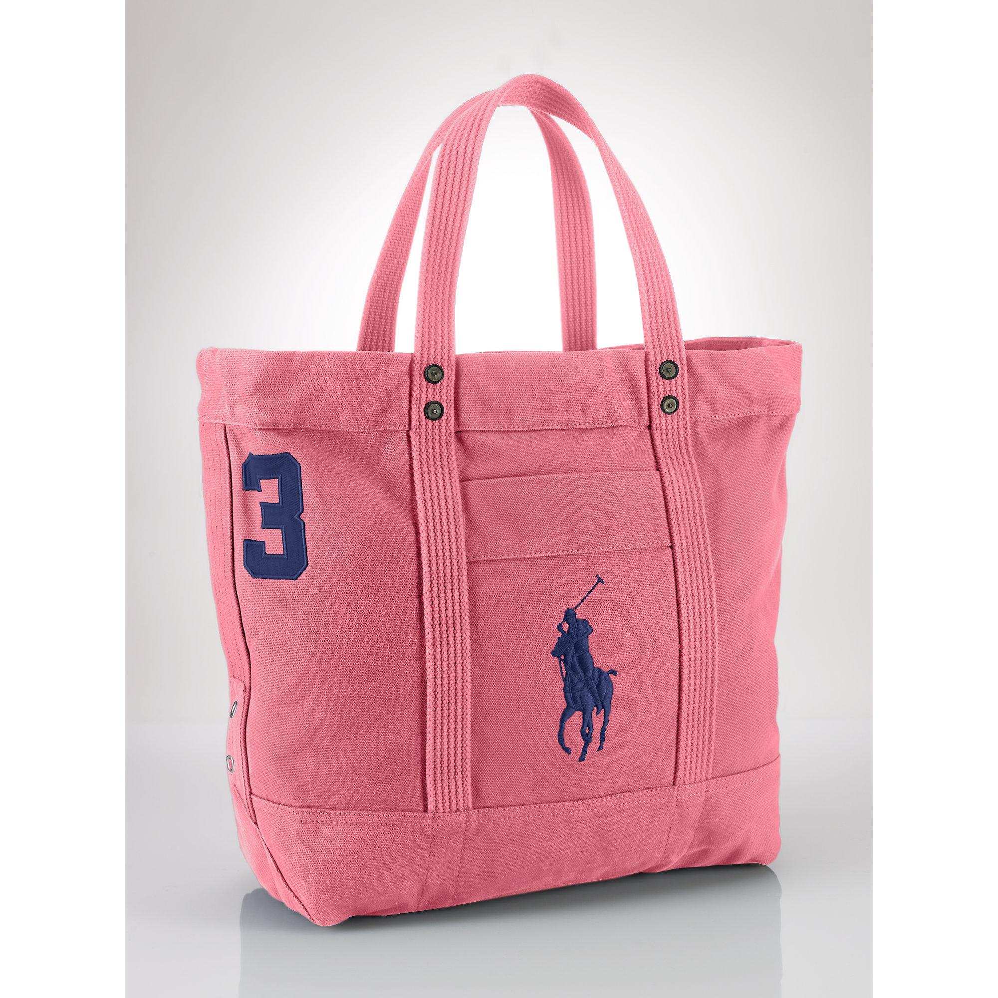 Big Men Lauren Pony For Pink Tote Ralph Polo Zip 6y7bfg