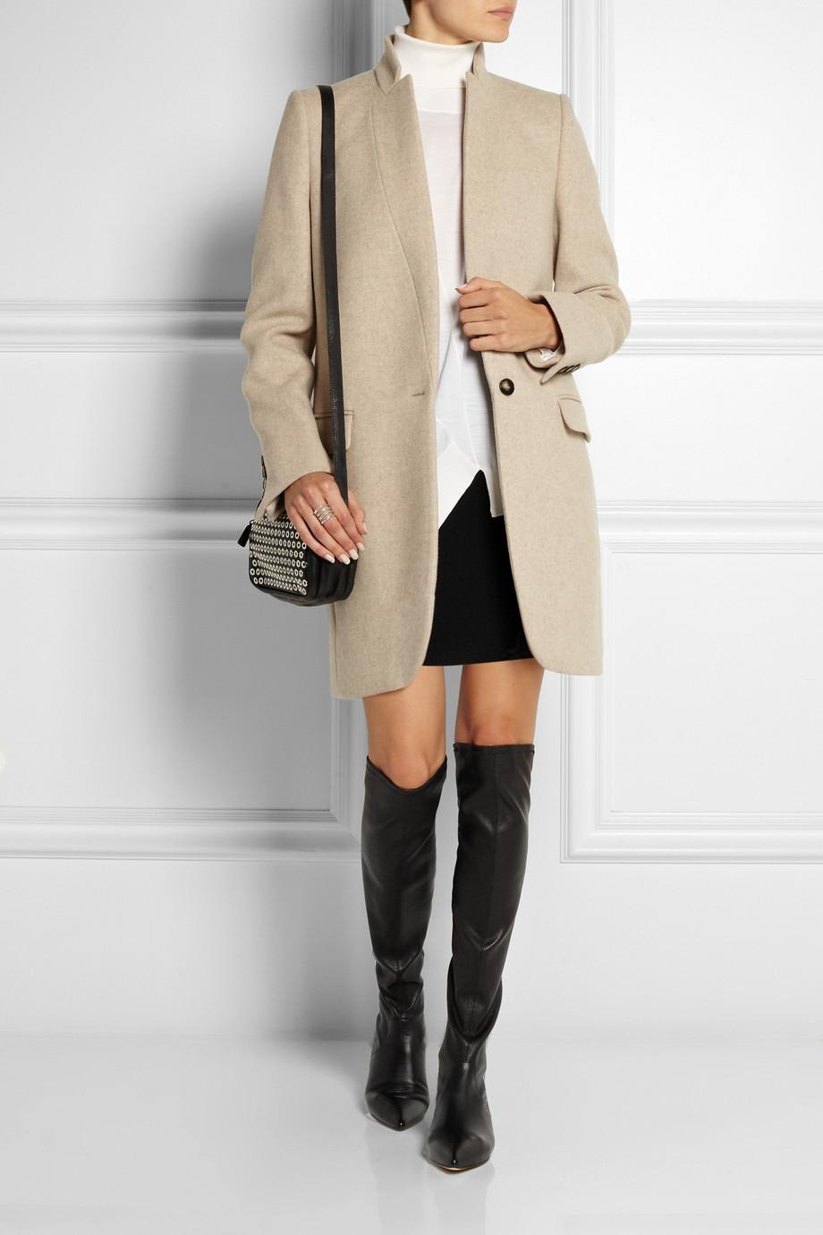 sale exclusive discount big discount Sigerson Morrison Suede Knee-High Boots marketable sale online 7haSGfW
