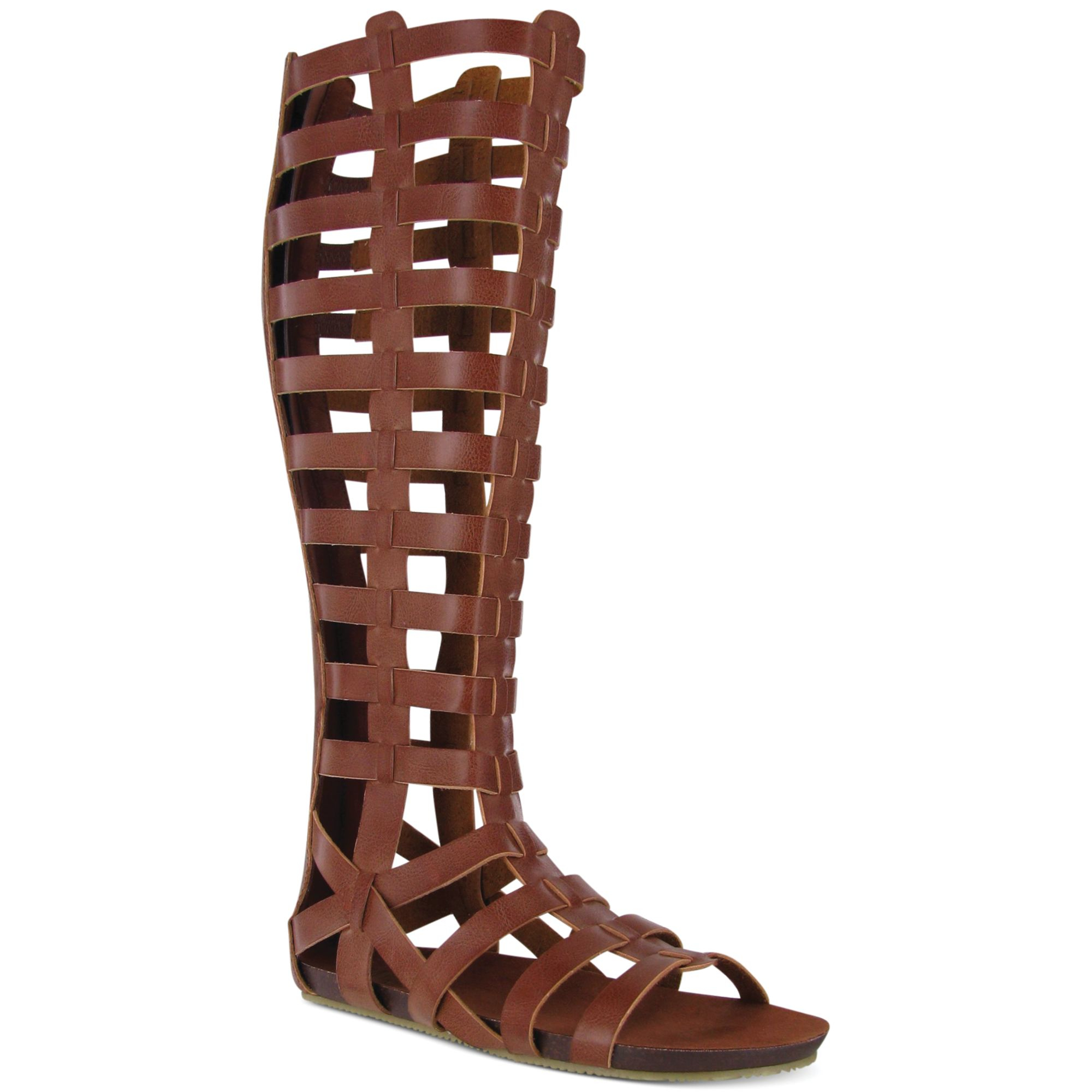Glitterati High Knee Mia Tall Gladiator ~ Sandals FT1J3lcK