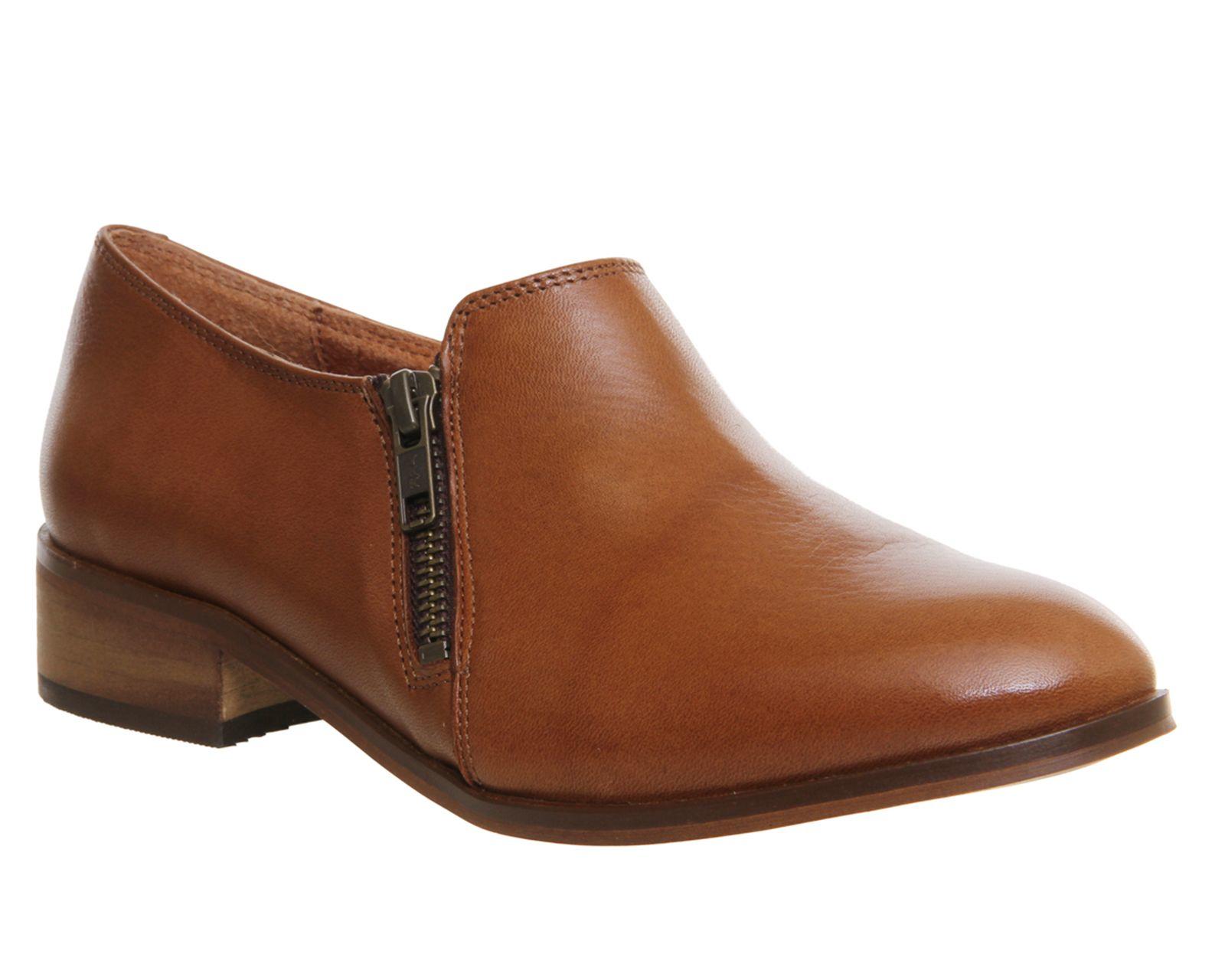 Office Shoes Lex Side Zip Flat