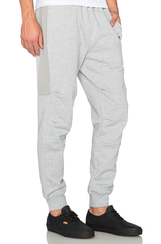 a6b1996d19 Stussy White Flight Fleece Pant for men