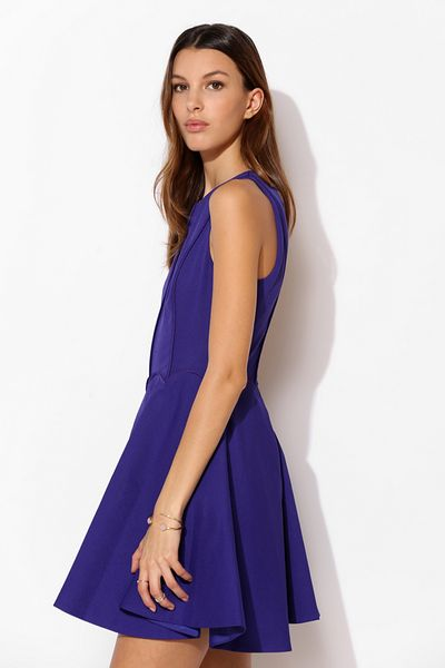 Keepsake Lucky Life Fit Flare Dress In Purple Violet Lyst