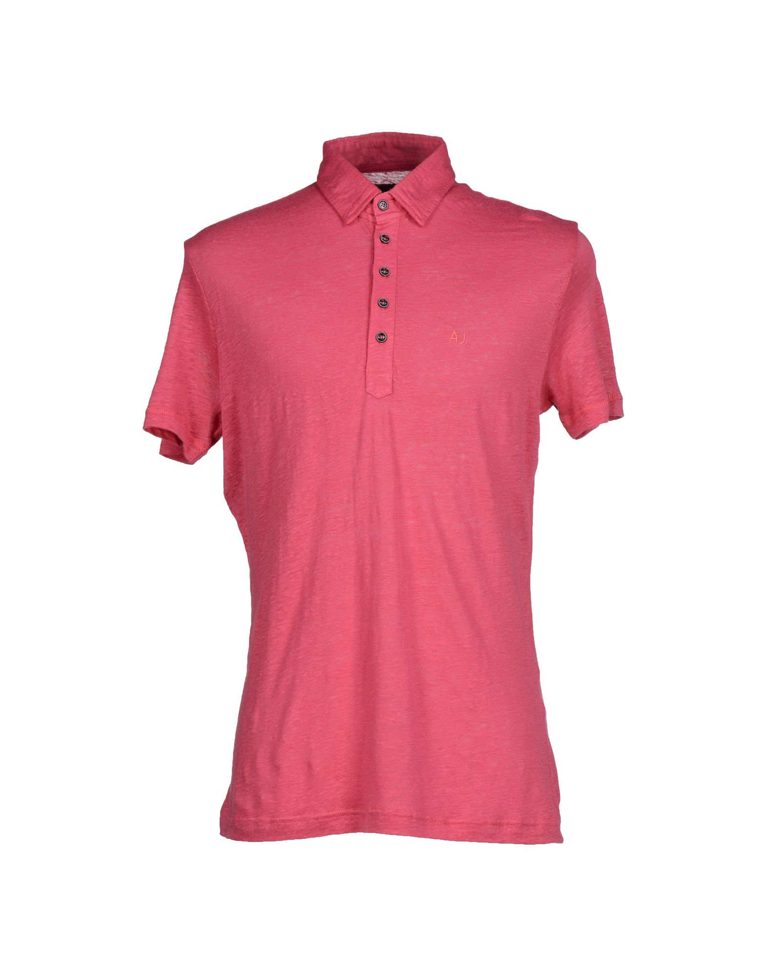 Armani Jeans Polo Shirt In Purple For Men Fuchsia Save