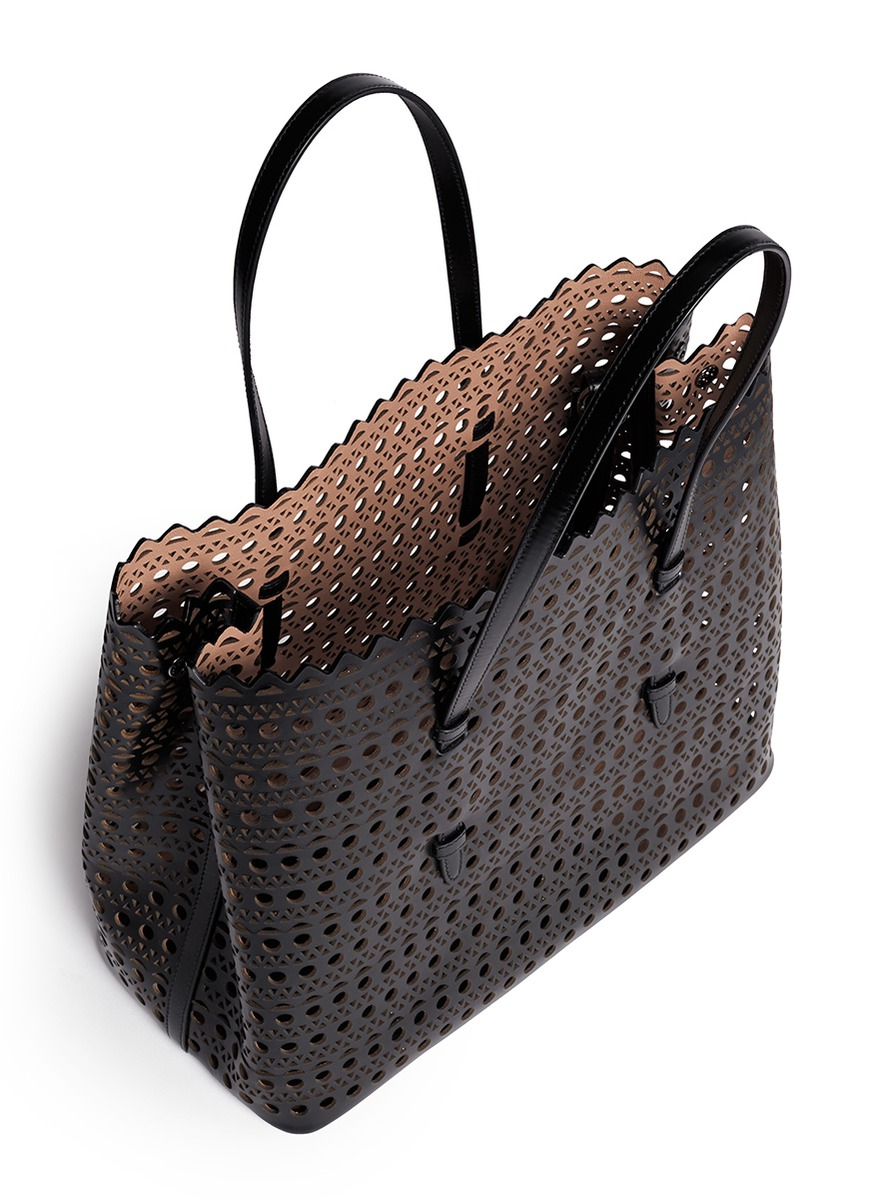 Alaïa Perforated Leather Bag - PurseBlog