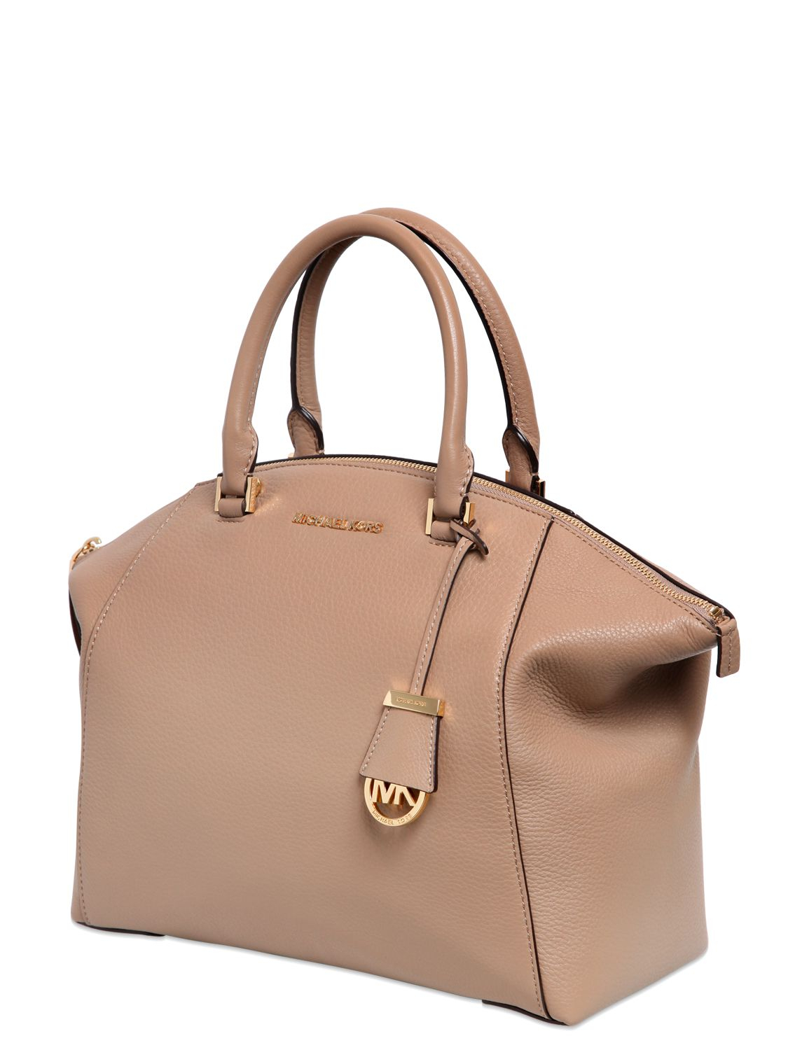 e6de92bab904 discount code for michael michael kors riley textured leather top handle bag  in ed791 6c394