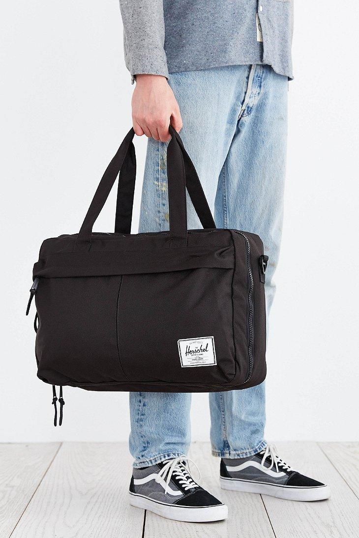 Lyst - Herschel Supply Co. Bowen Duffel Bag in Black for Men 881df4a6de7de