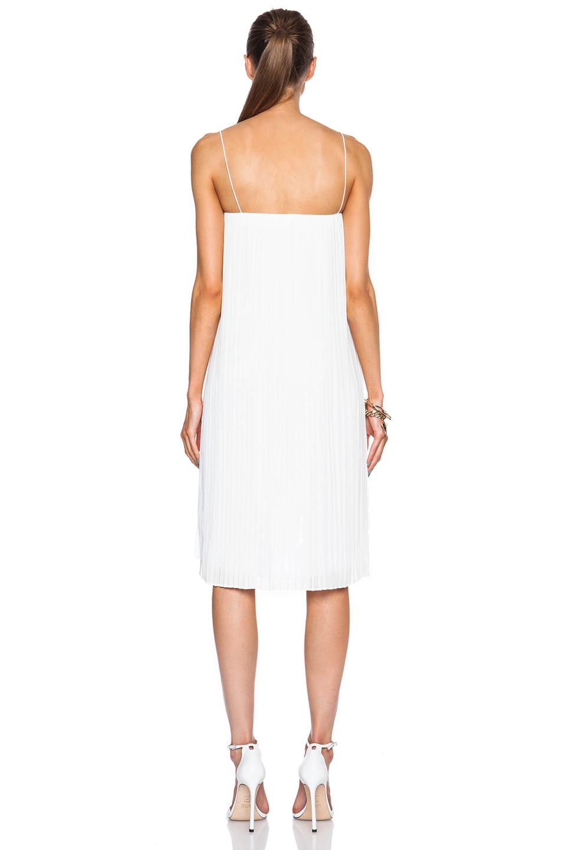 bca72b64dc Dion Lee Ii Corrugated Cami Dress in White - Lyst
