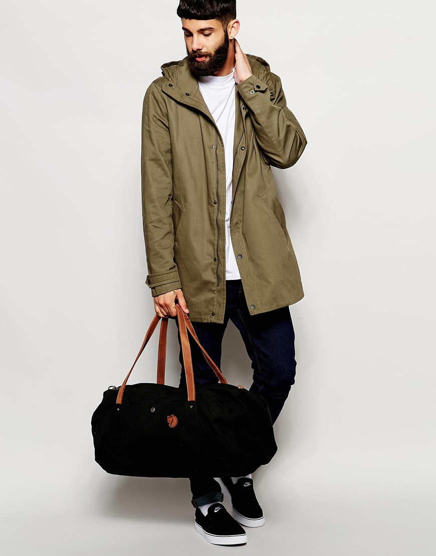 Fjallraven No.4 Duffle Bag In Large in Black for Men | Lyst