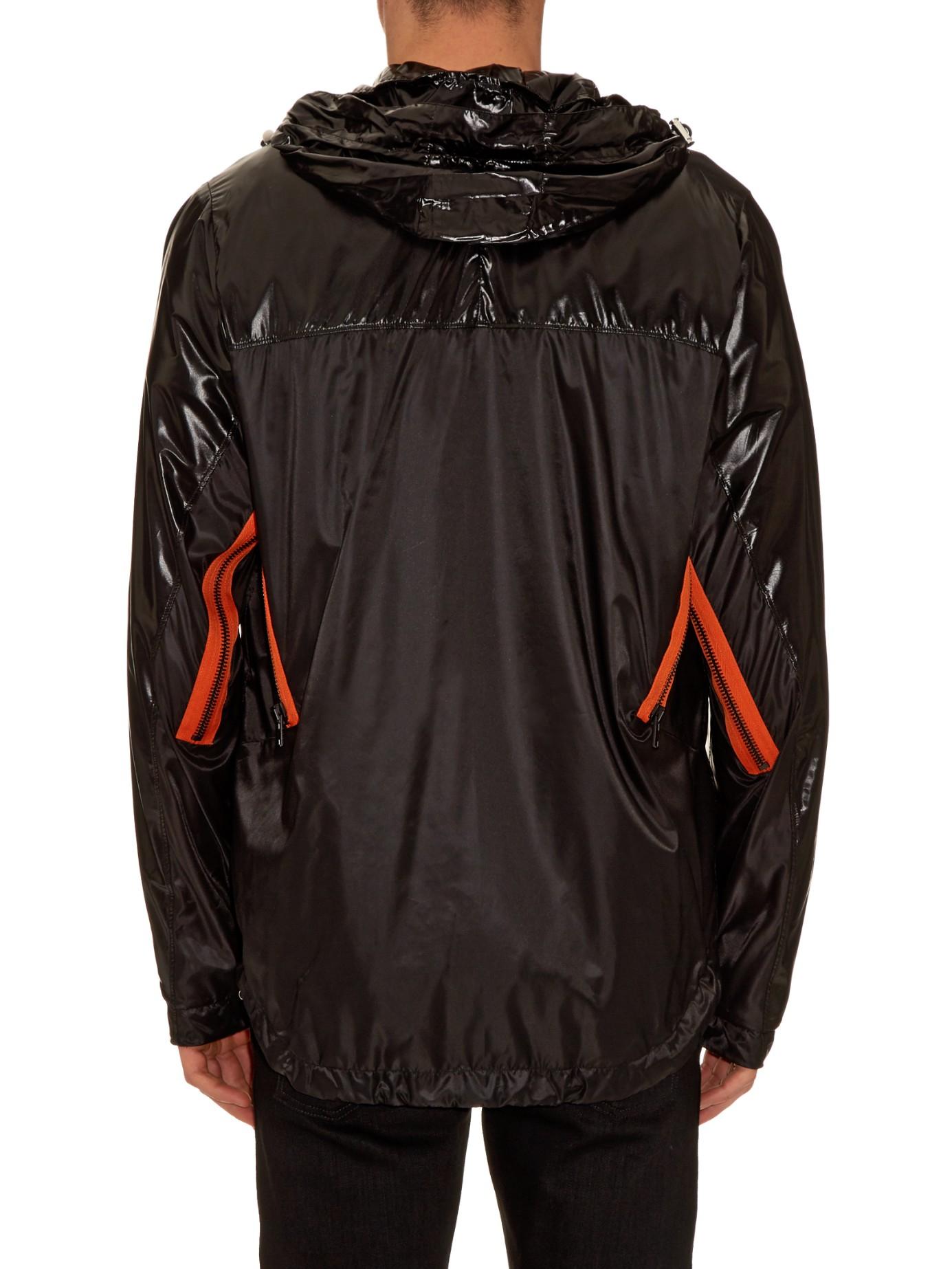 Givenchy Windbreaker Nylon Jacket in Black for Men   Lyst