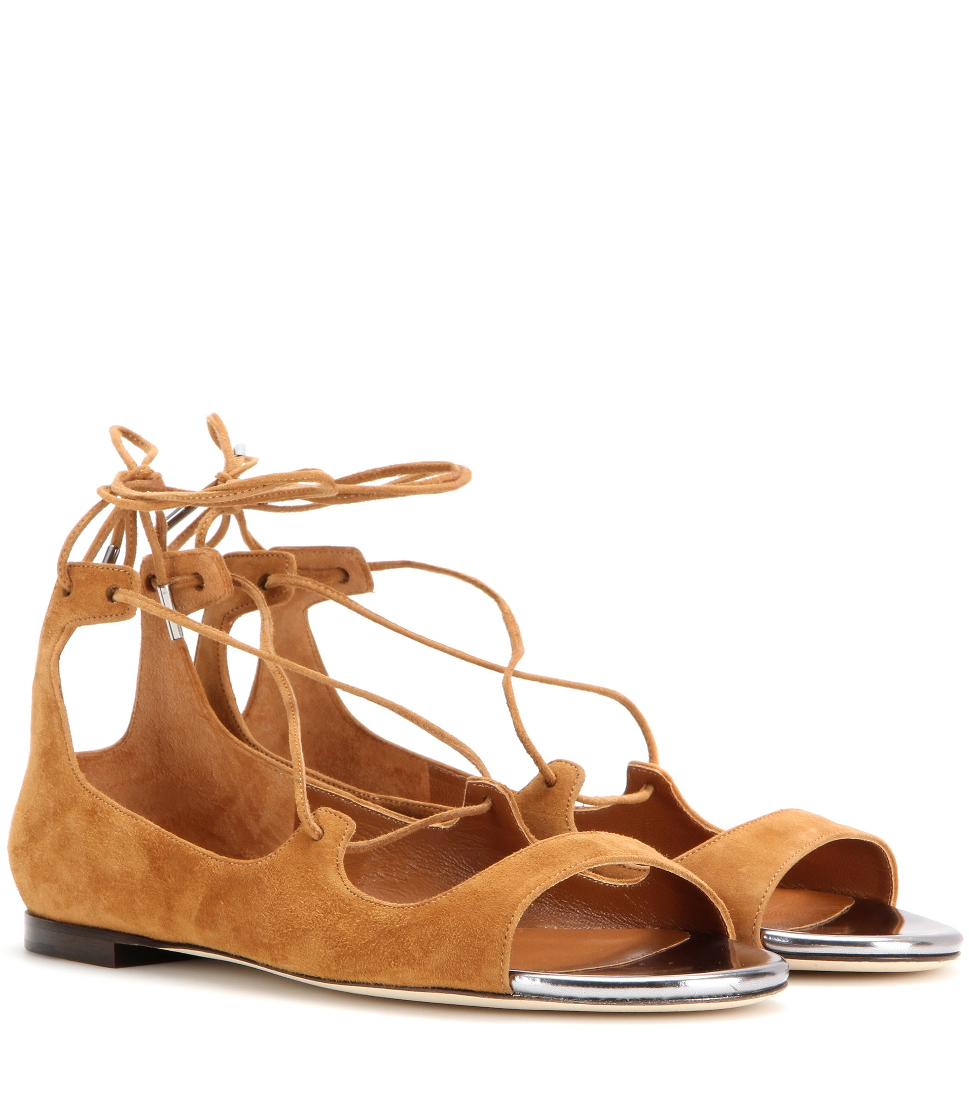 Jimmy Choo Suede Vernie Flats discount factory outlet r3T3S8e