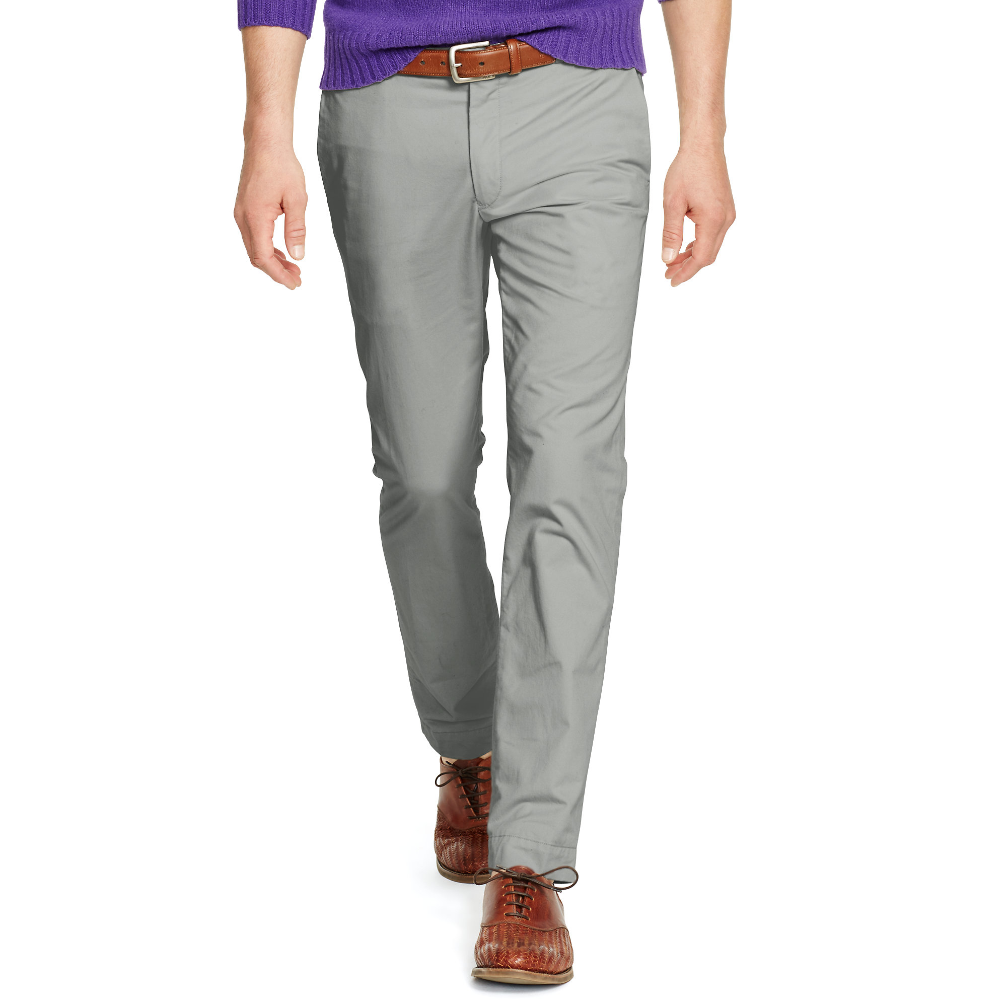 20f10900ef Polo Ralph Lauren Gray Stretch Slim-fit Chino for men