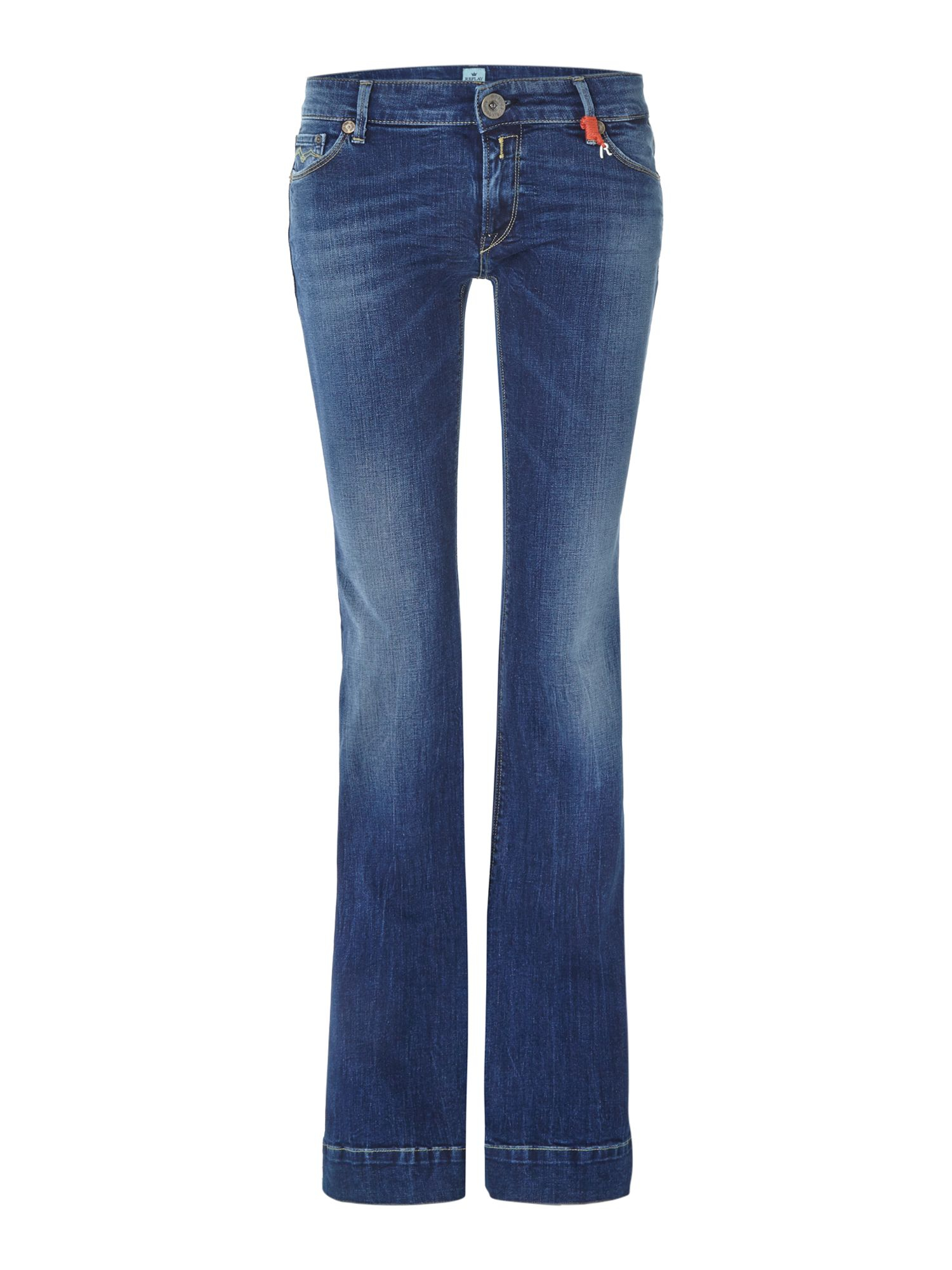 Womens Flared Jeans Replay Dr9tdvh