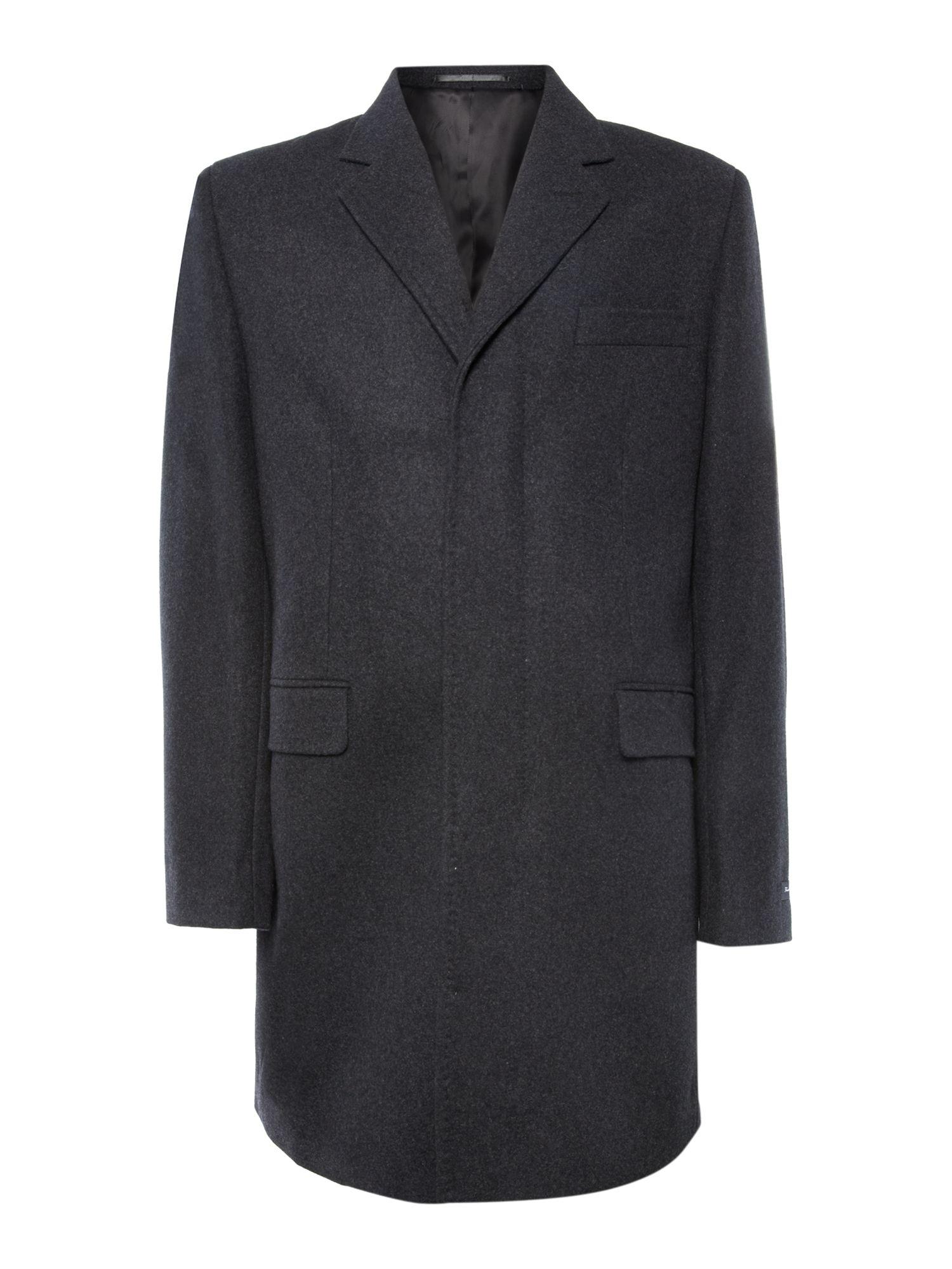 Three-quarter length overcoat