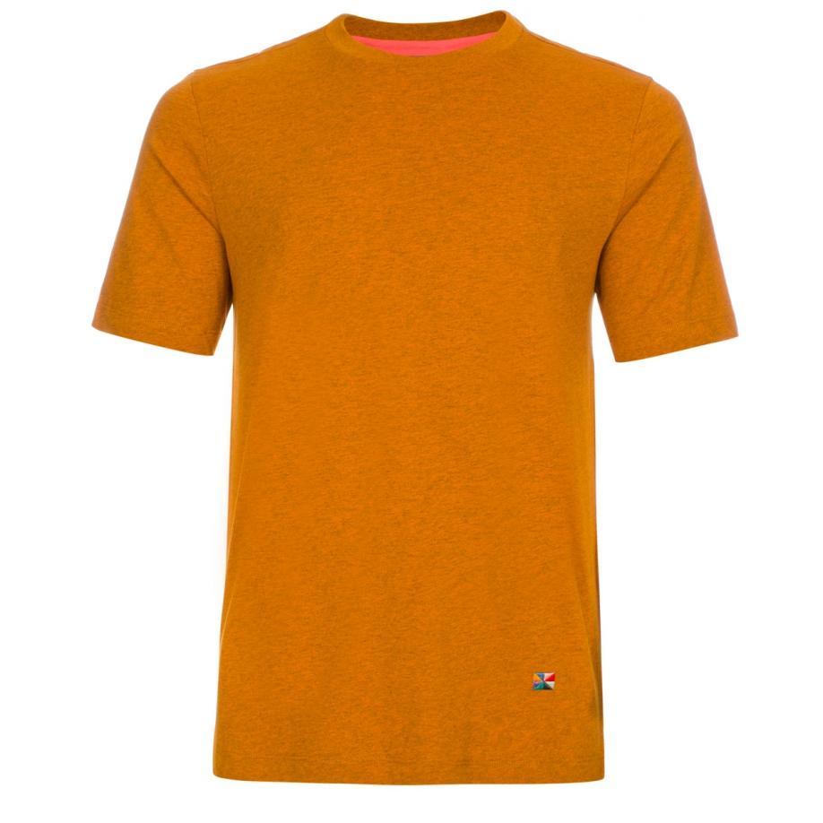 paul smith marl flag motif t shirt in orange for men lyst. Black Bedroom Furniture Sets. Home Design Ideas