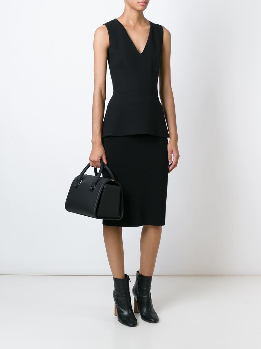 Victoria Beckham 'seven' Tote in Black