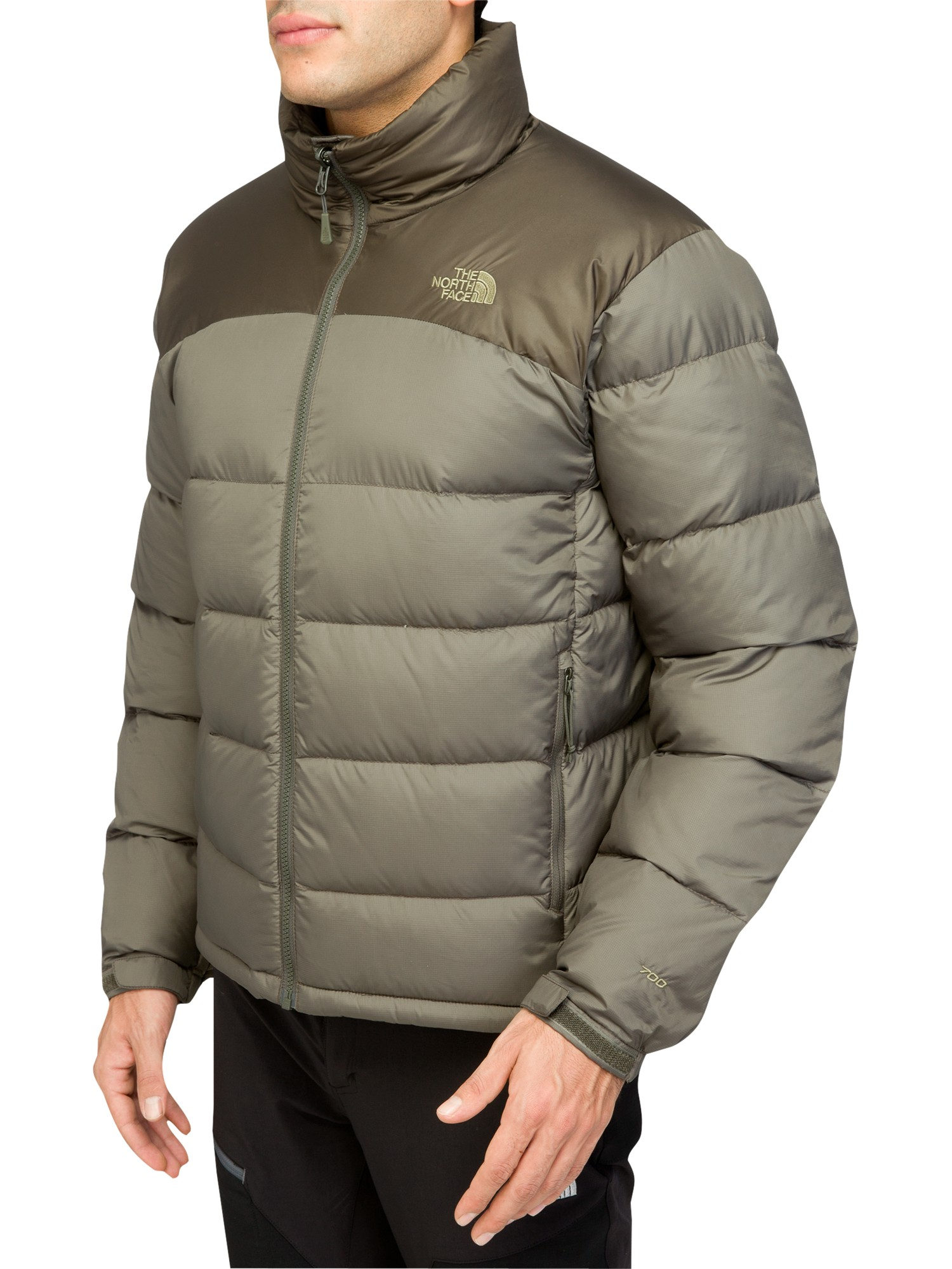 The North Face Nuptse Down Jacket In Green For Men Lyst